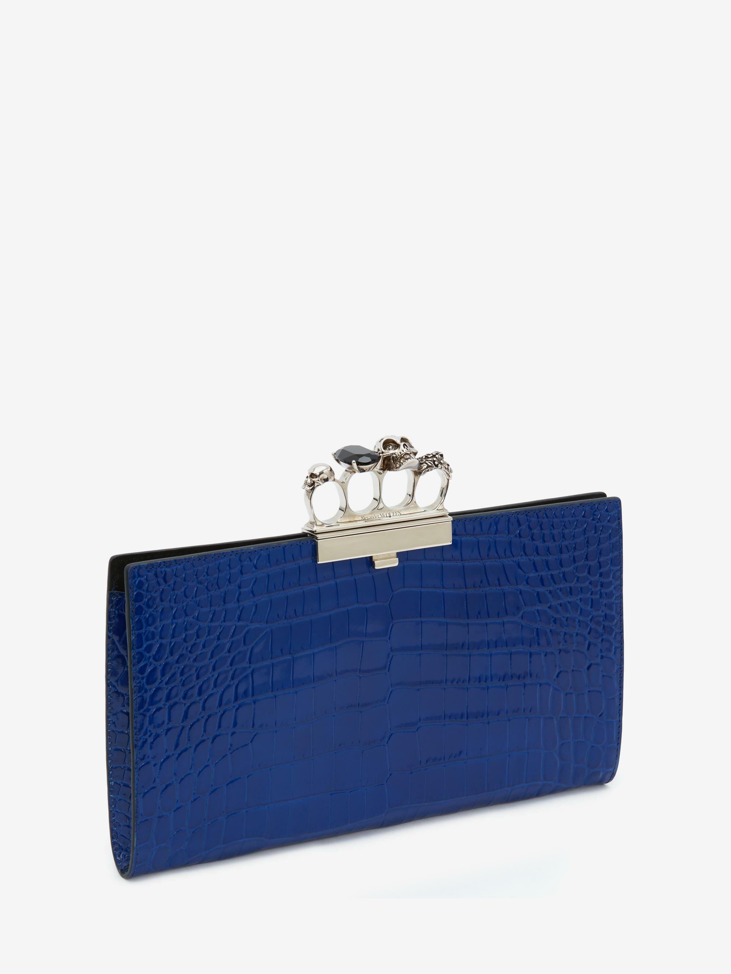 Skull Four-Ring Flat Pouch 1