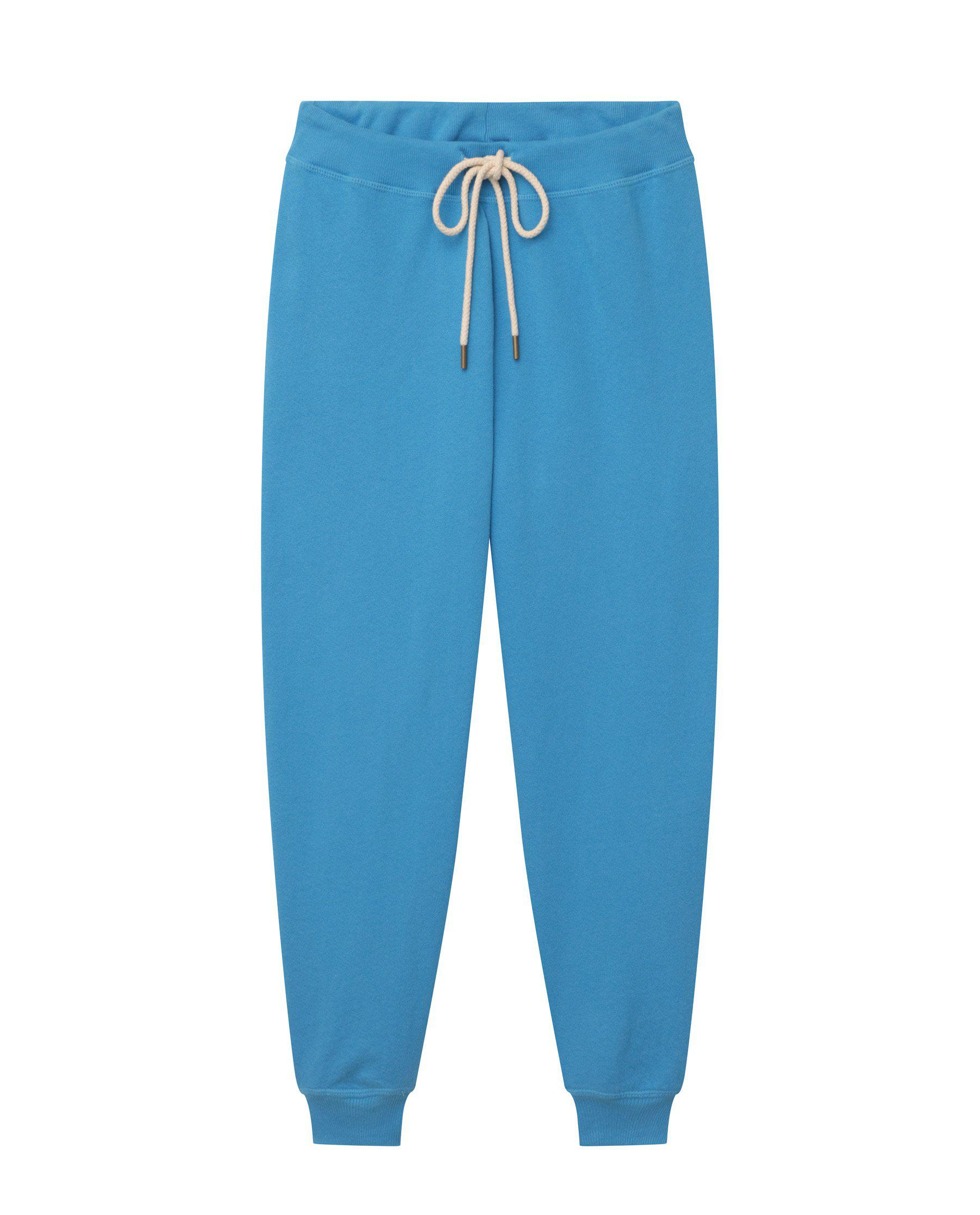 The Cropped Sweatpant. Novelty -- Rally Blue 4
