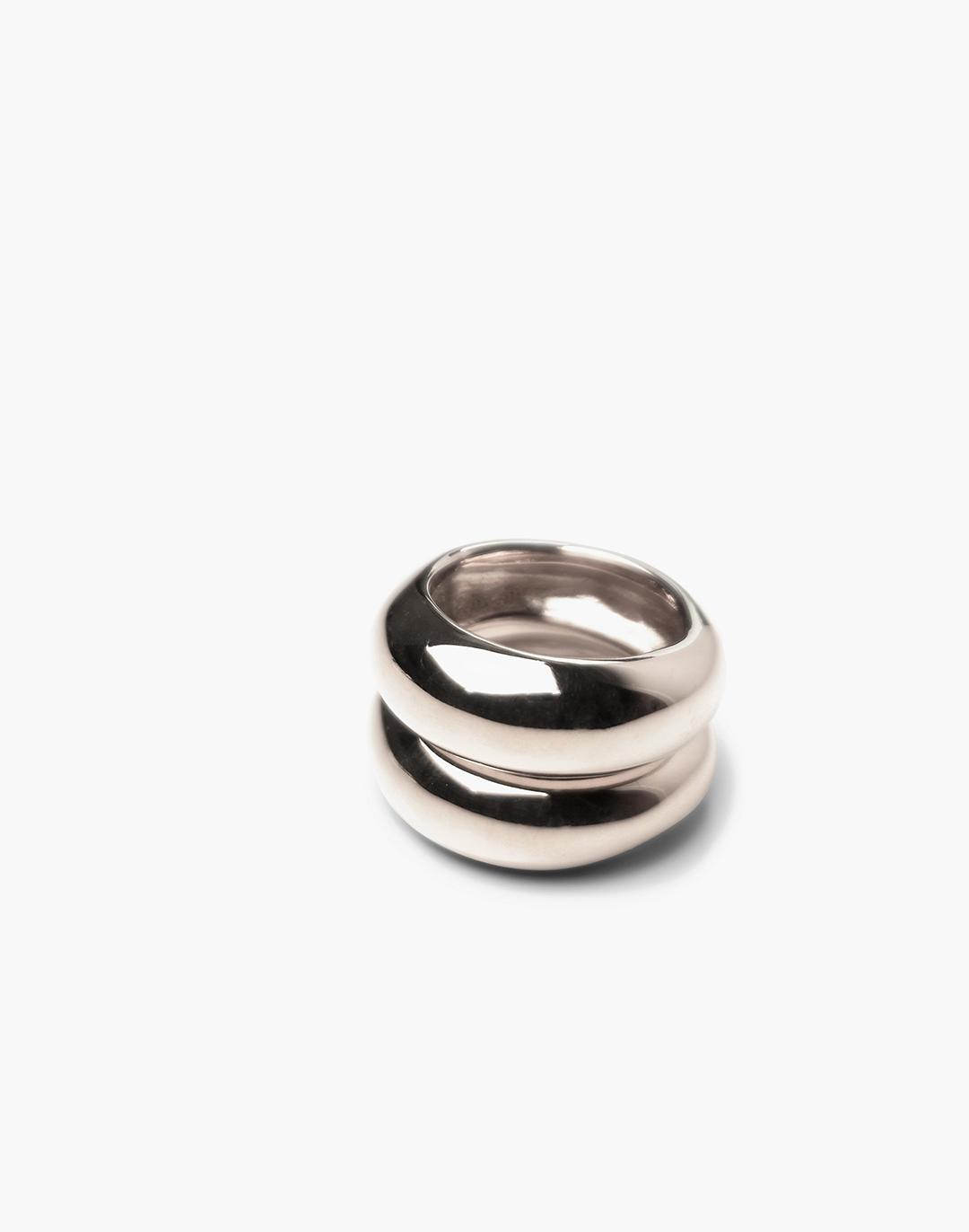 CHARLOTTE CAUWE STUDIO Bubble Ring Set In Sterling Silver