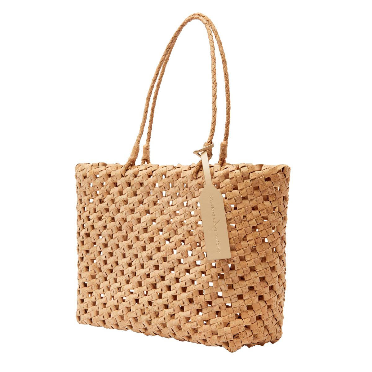 Vegan Cork Knotted Tote 1