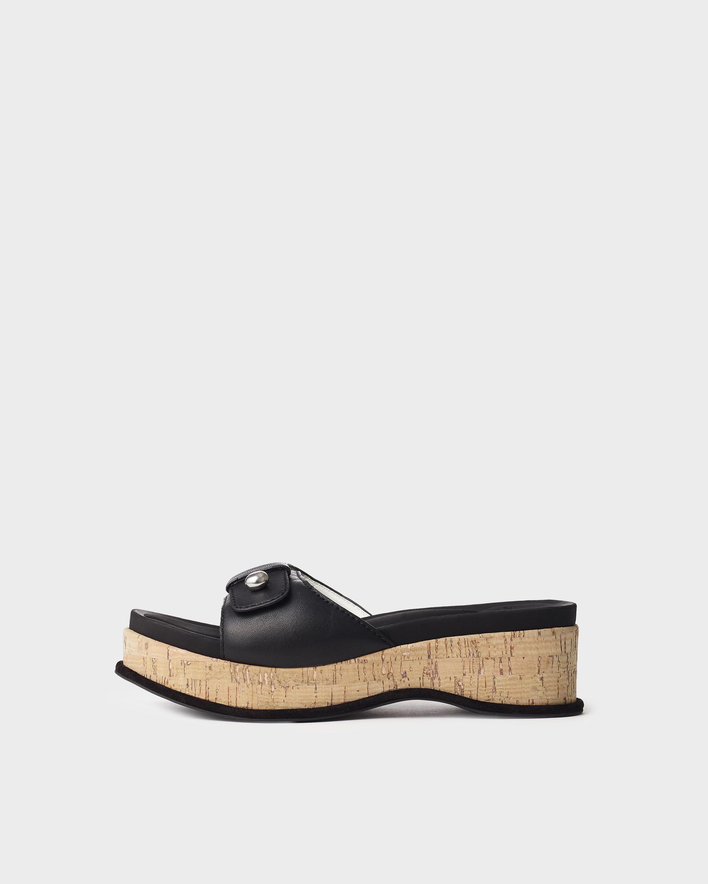 Sommer wedge - leather