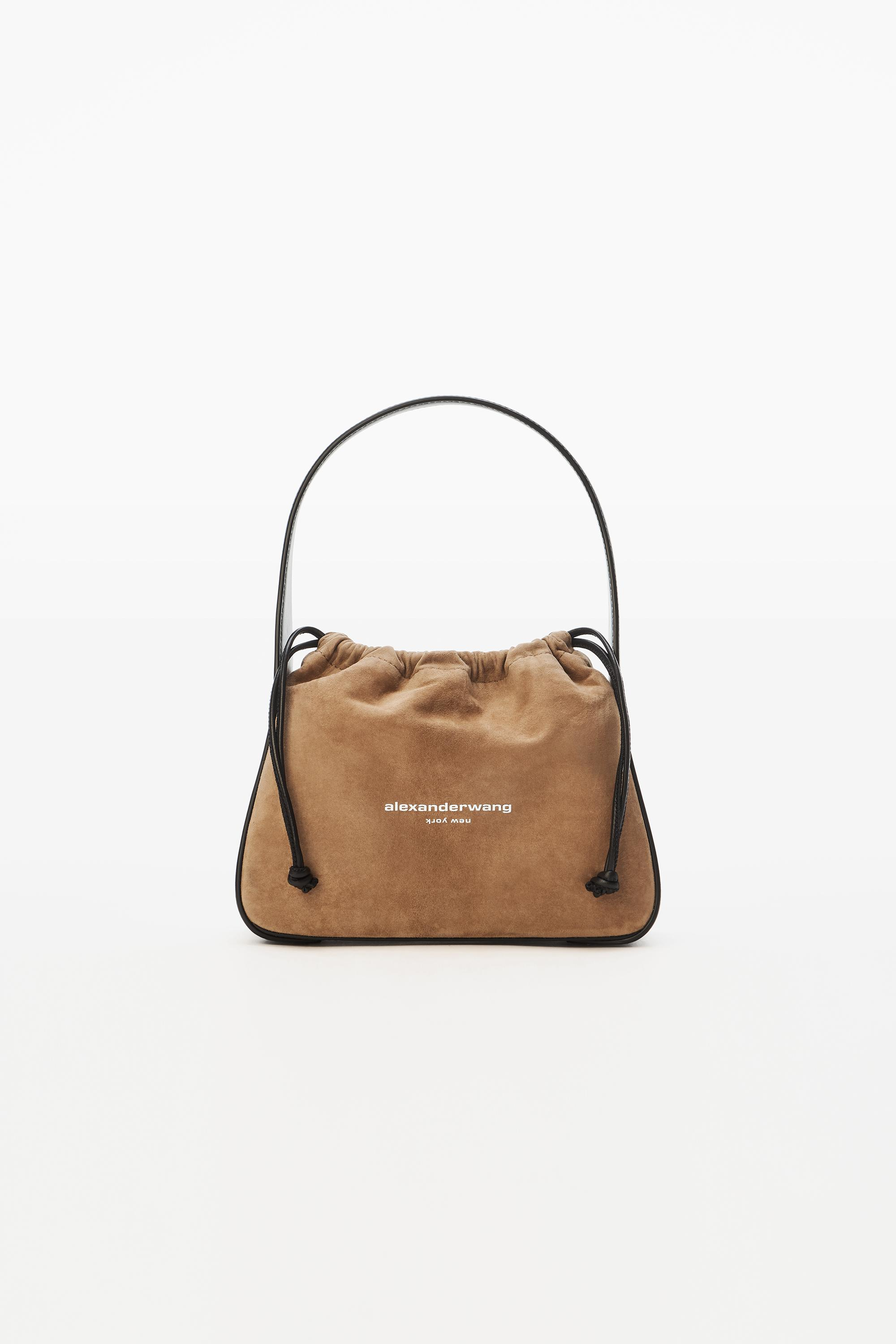 ryan small bag in suede
