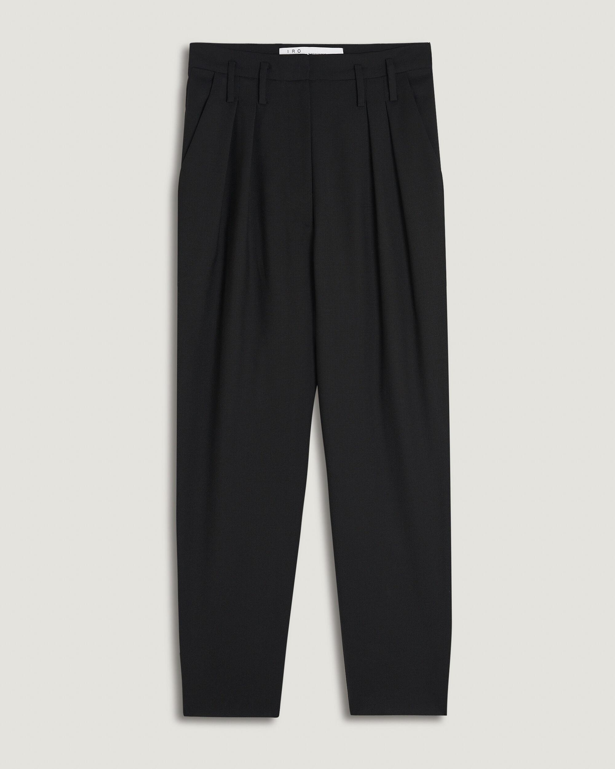 ALESSO ULTRA CROPPED PLEATED TROUSERS 3