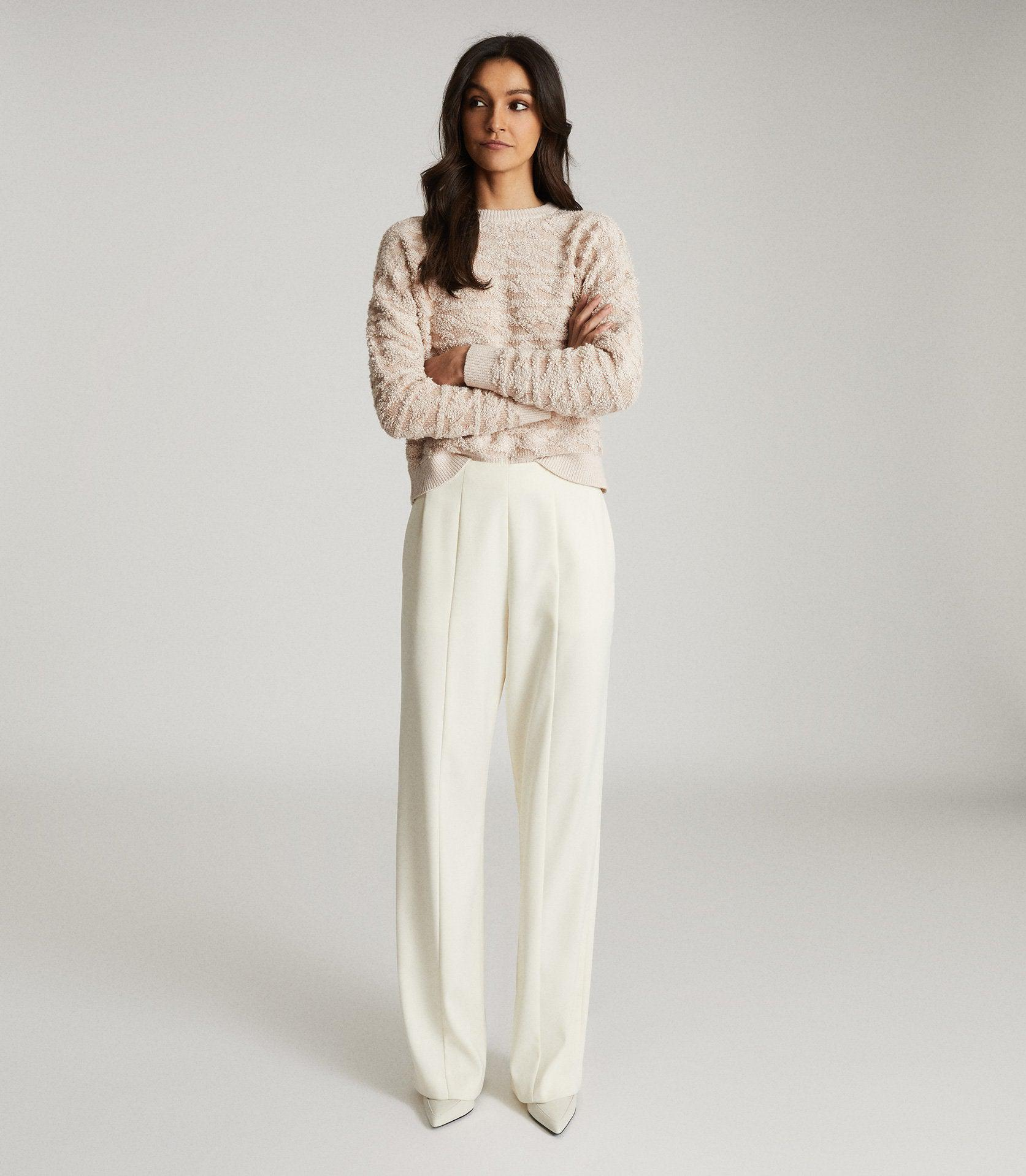 OTTO - TEXTURED PATTERNED JUMPER