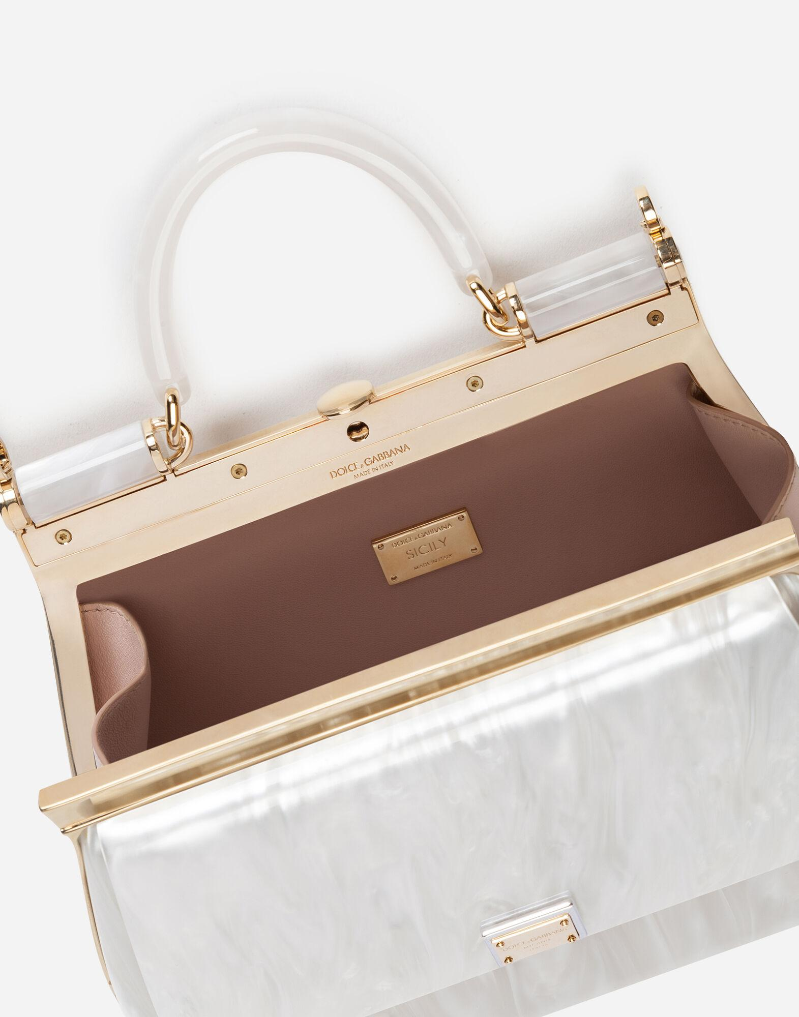 Sicily box bag in mother-of-pearl sint glass 3
