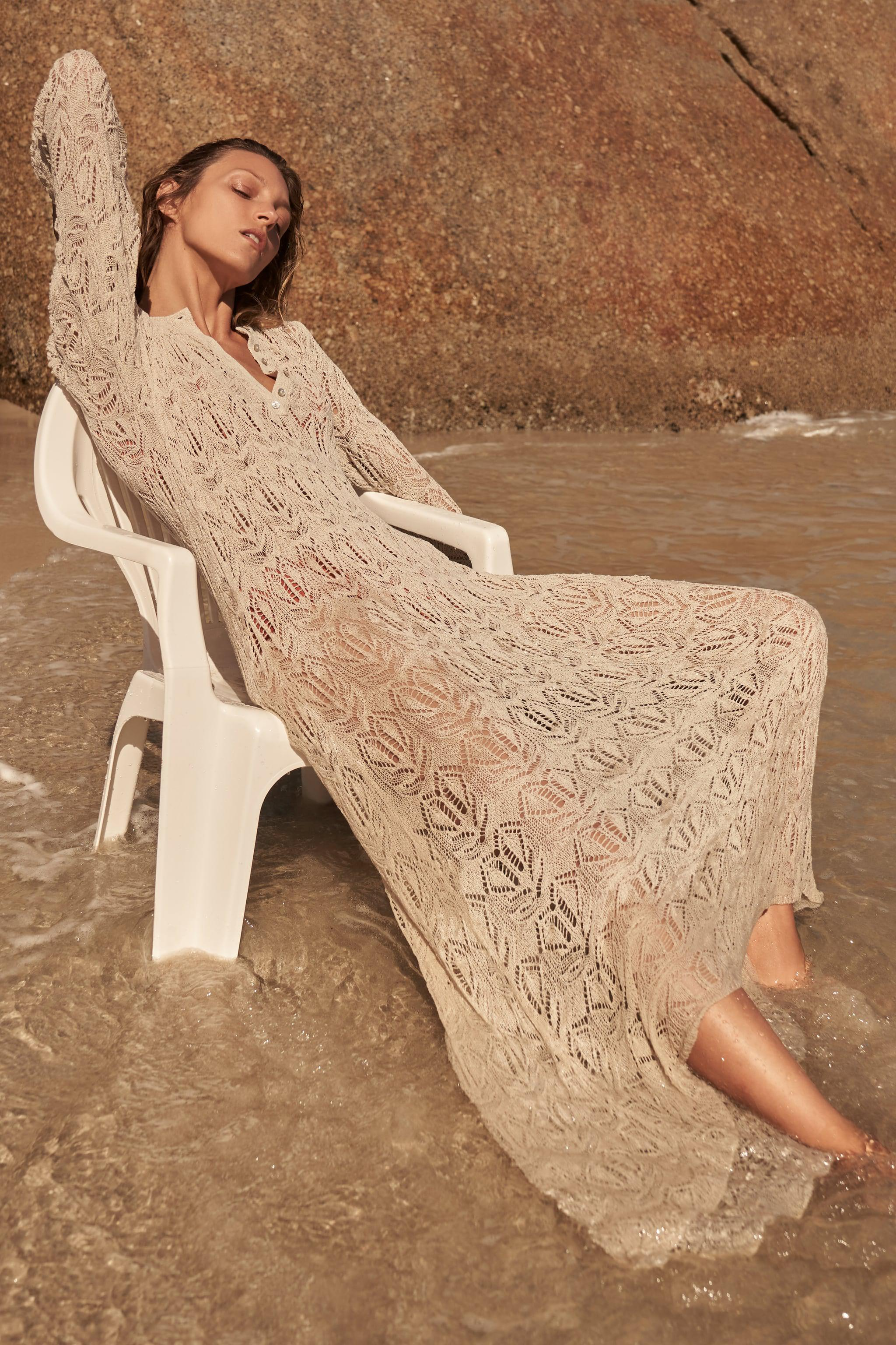 OPENWORK KNIT DRESS SPECIAL EDITION