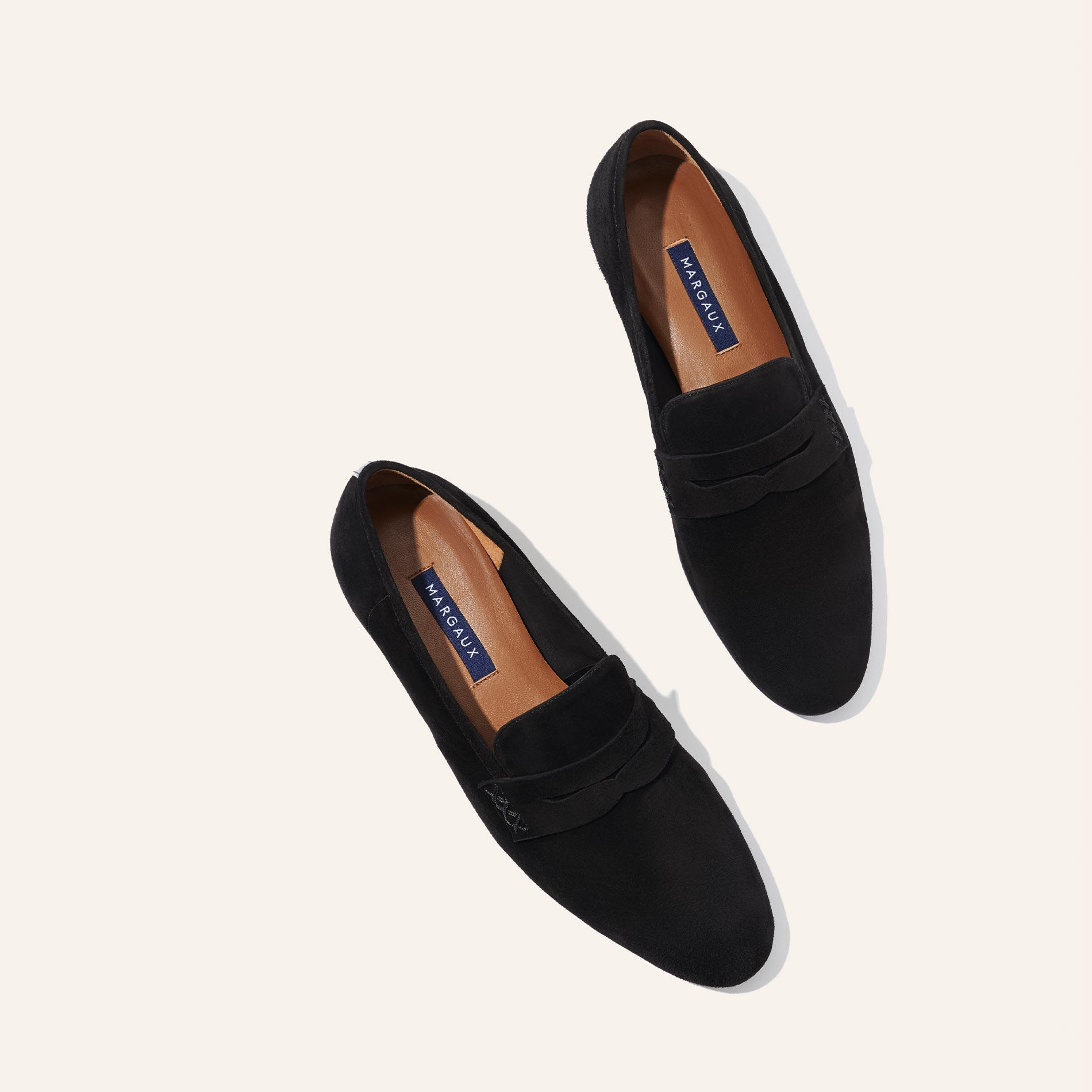 The Penny - Black Suede