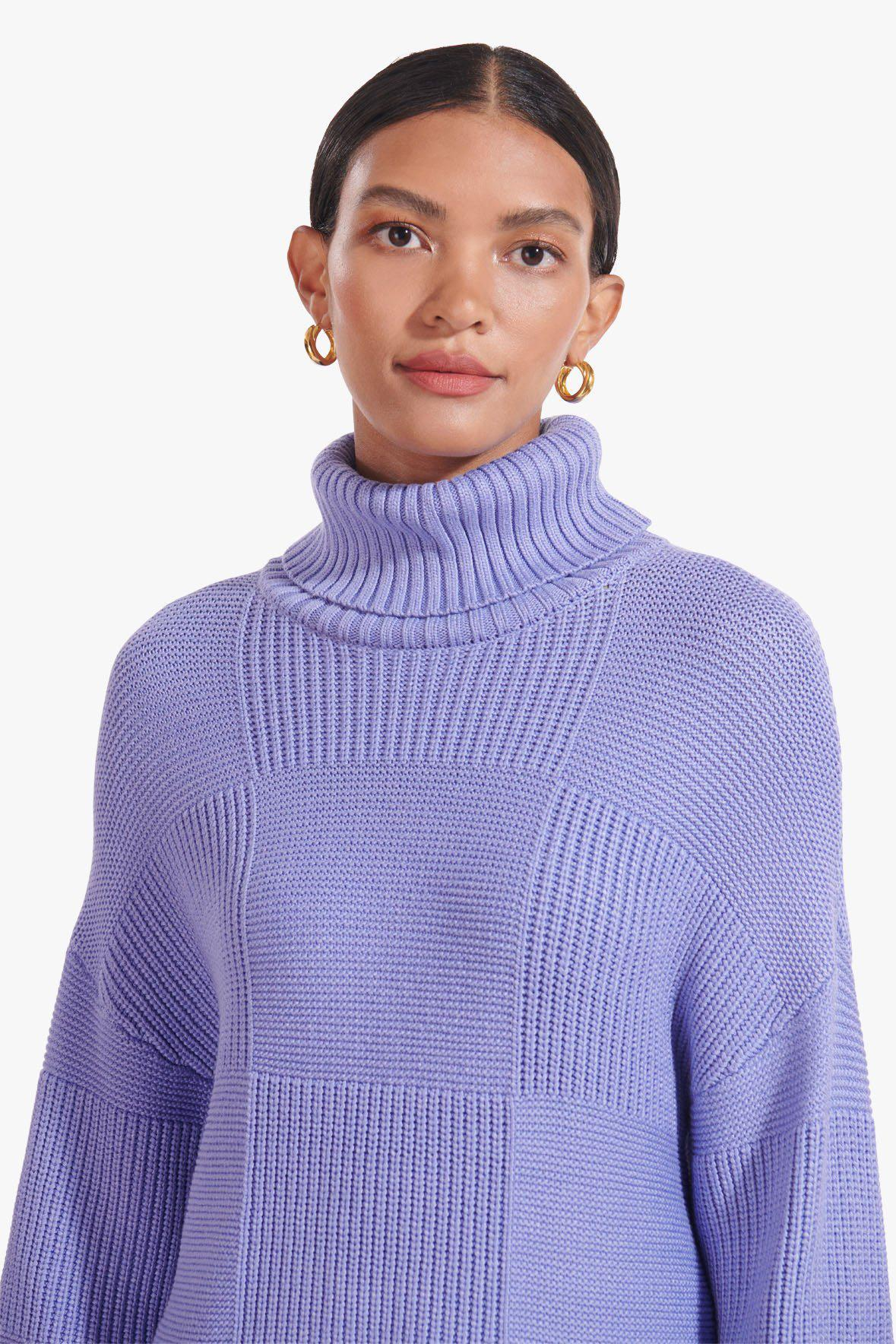 BENNY SWEATER | PERIWINKLE