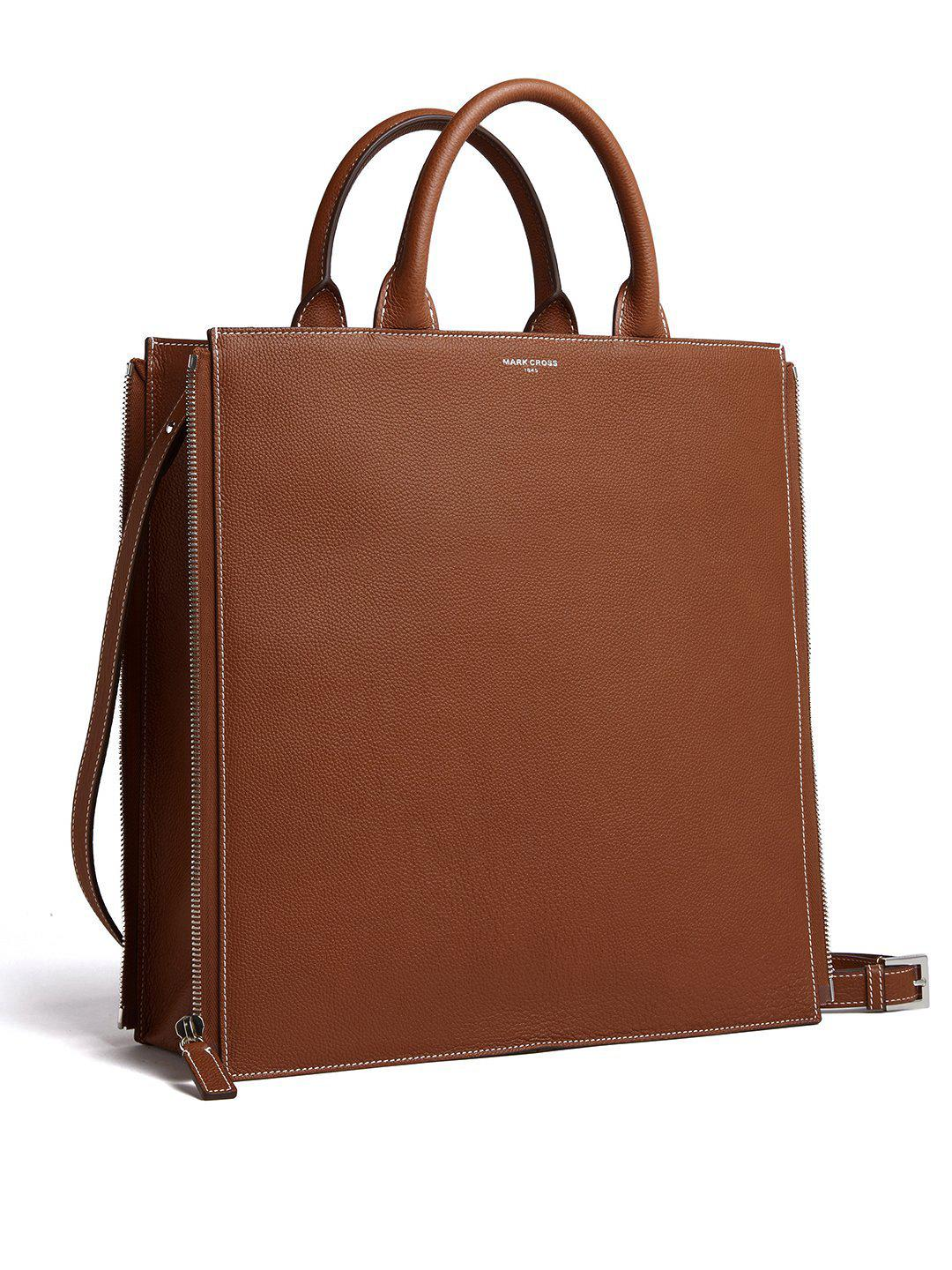 Sidney Leather Tote Bag 3