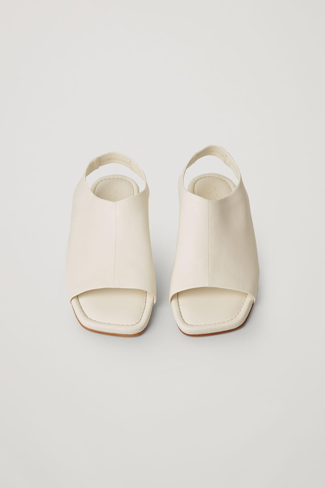 LEATHER OPEN-TOE SANDALS 1