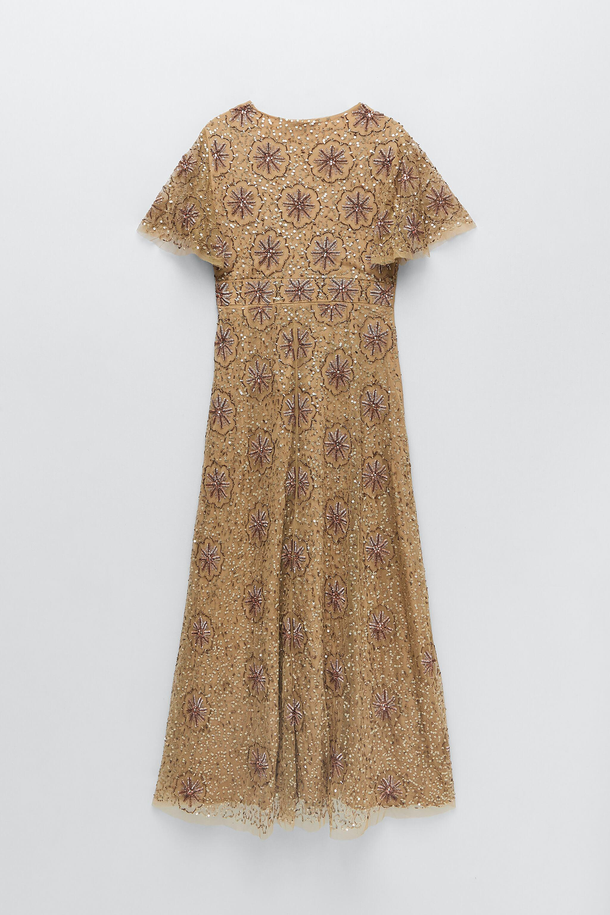 BEADED SPECIAL EDITION KNIT DRESS 7