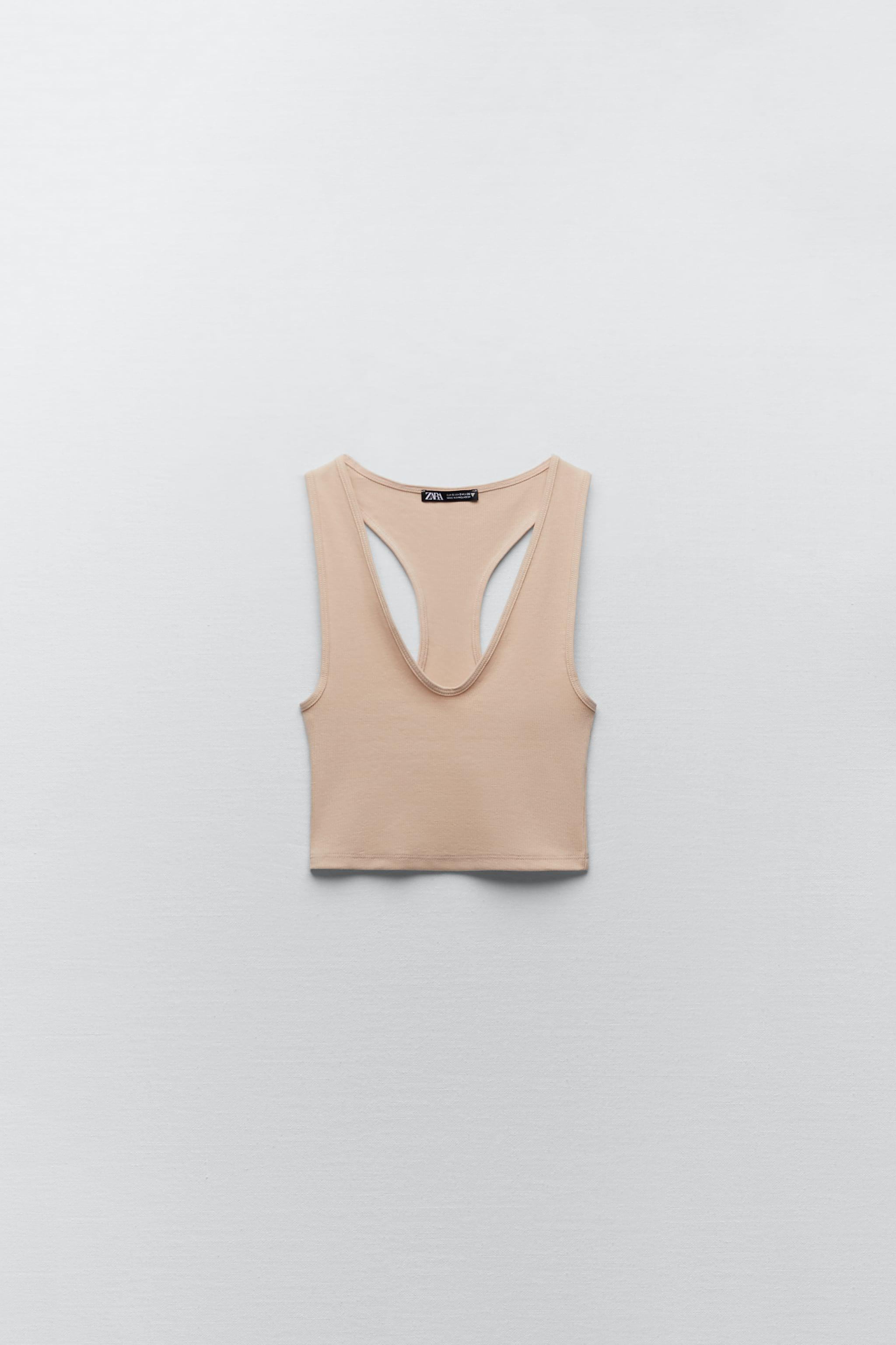RIBBED CROPPED TOP 4