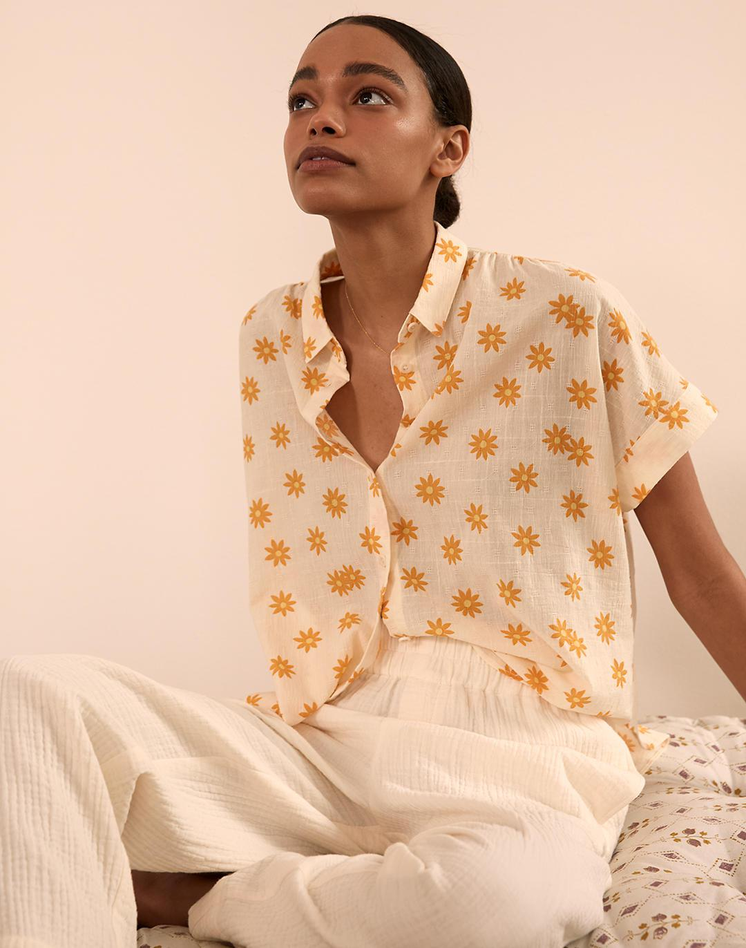 Hilltop Shirt in Daisy Groove 3