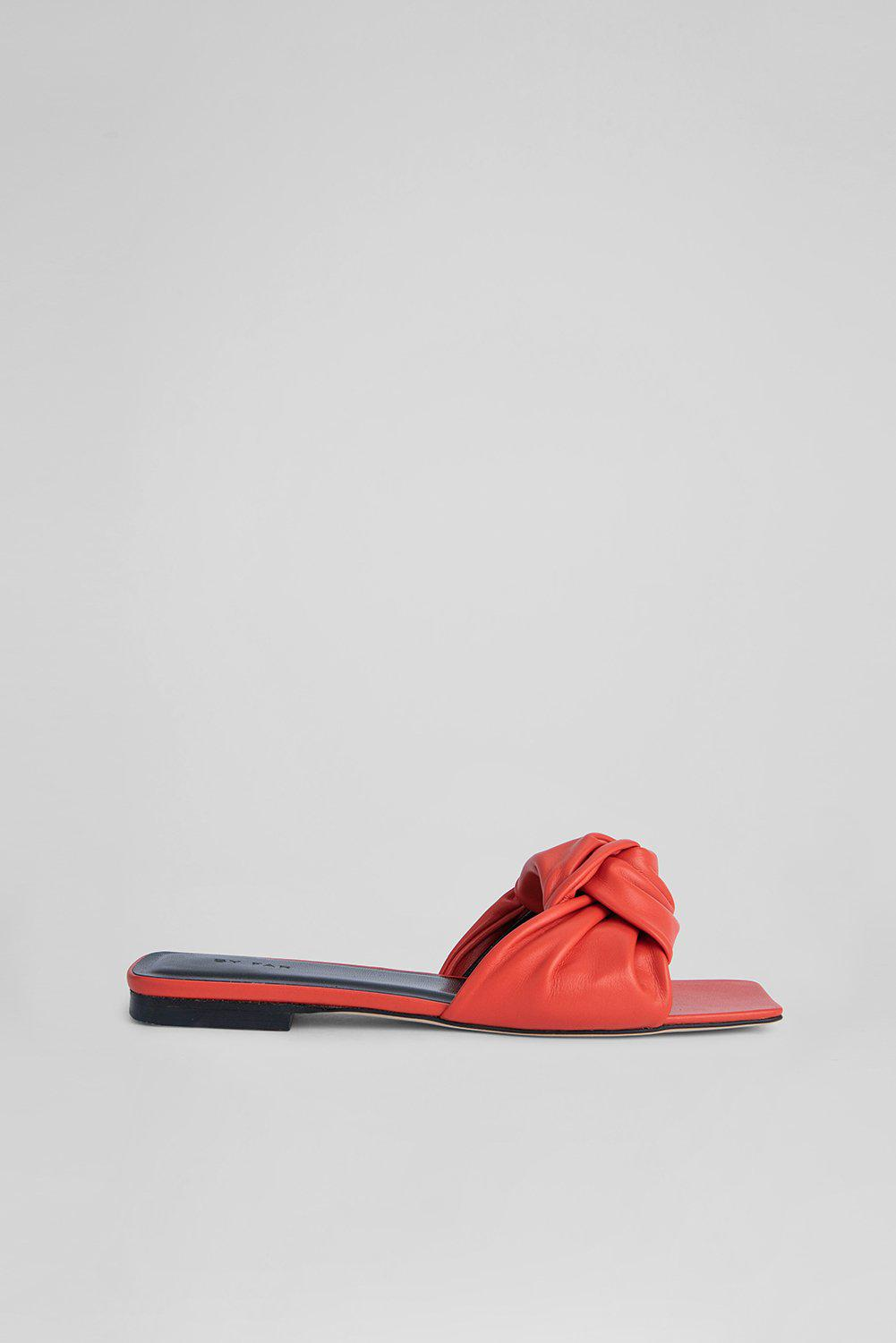 Lima Scarlet Smooth Calf Leather