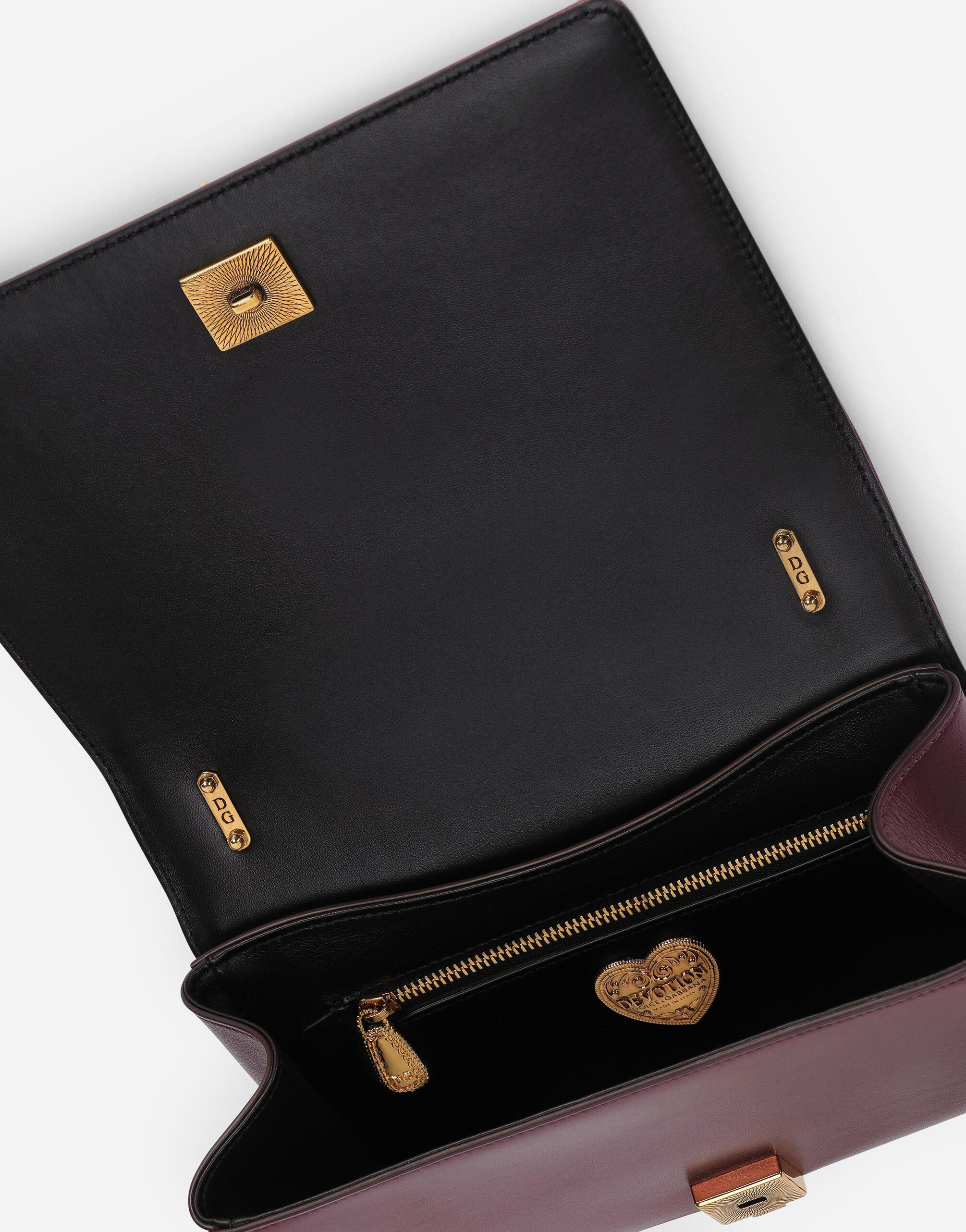 Medium Devotion crossbody bag in quilted nappa mordore leather 3