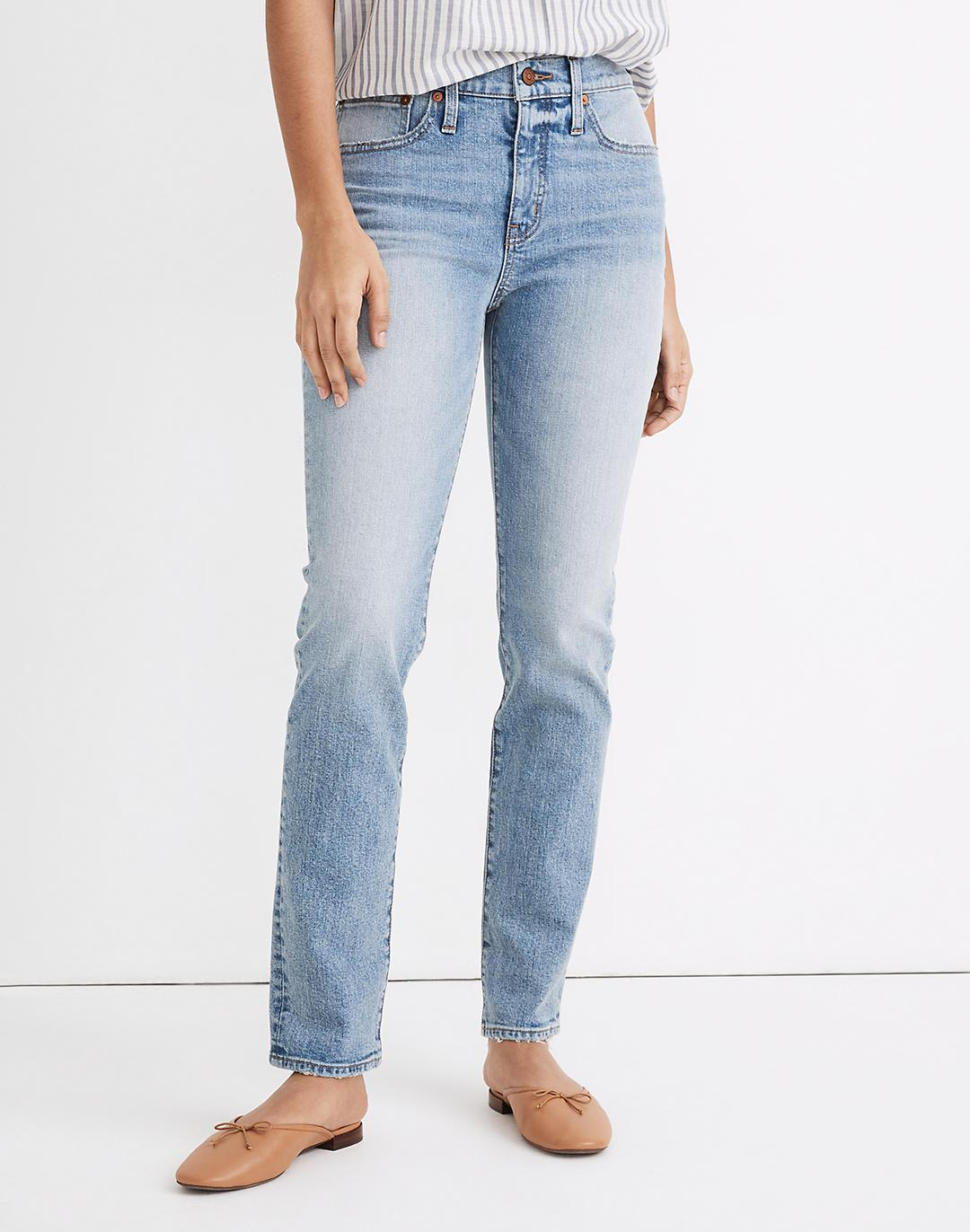 Tomboy Straight Jeans in Glover Wash 3