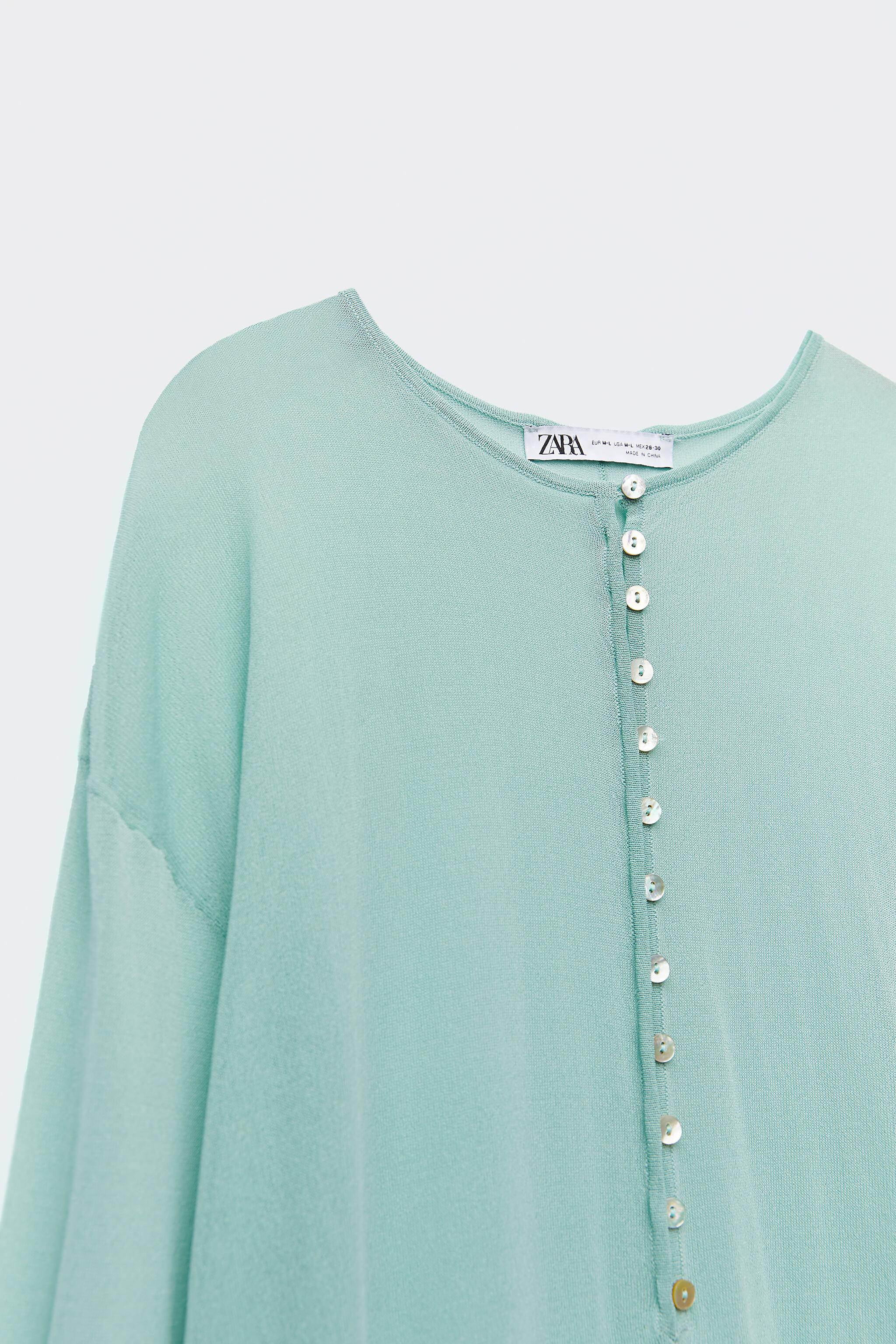 SEMI-SHEER KNIT TUNIC LIMITED EDITION 8