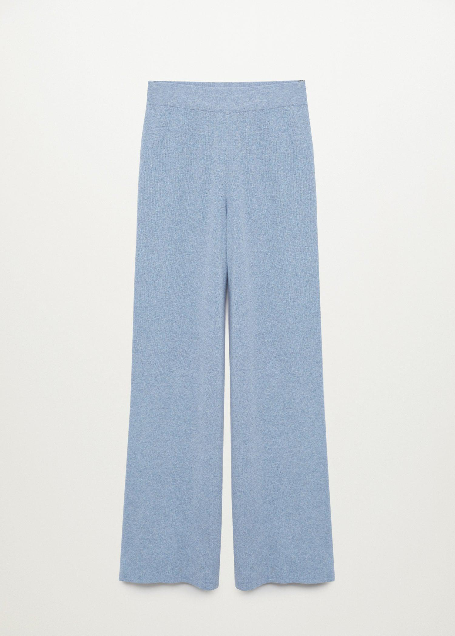 Straight knitted pants 7