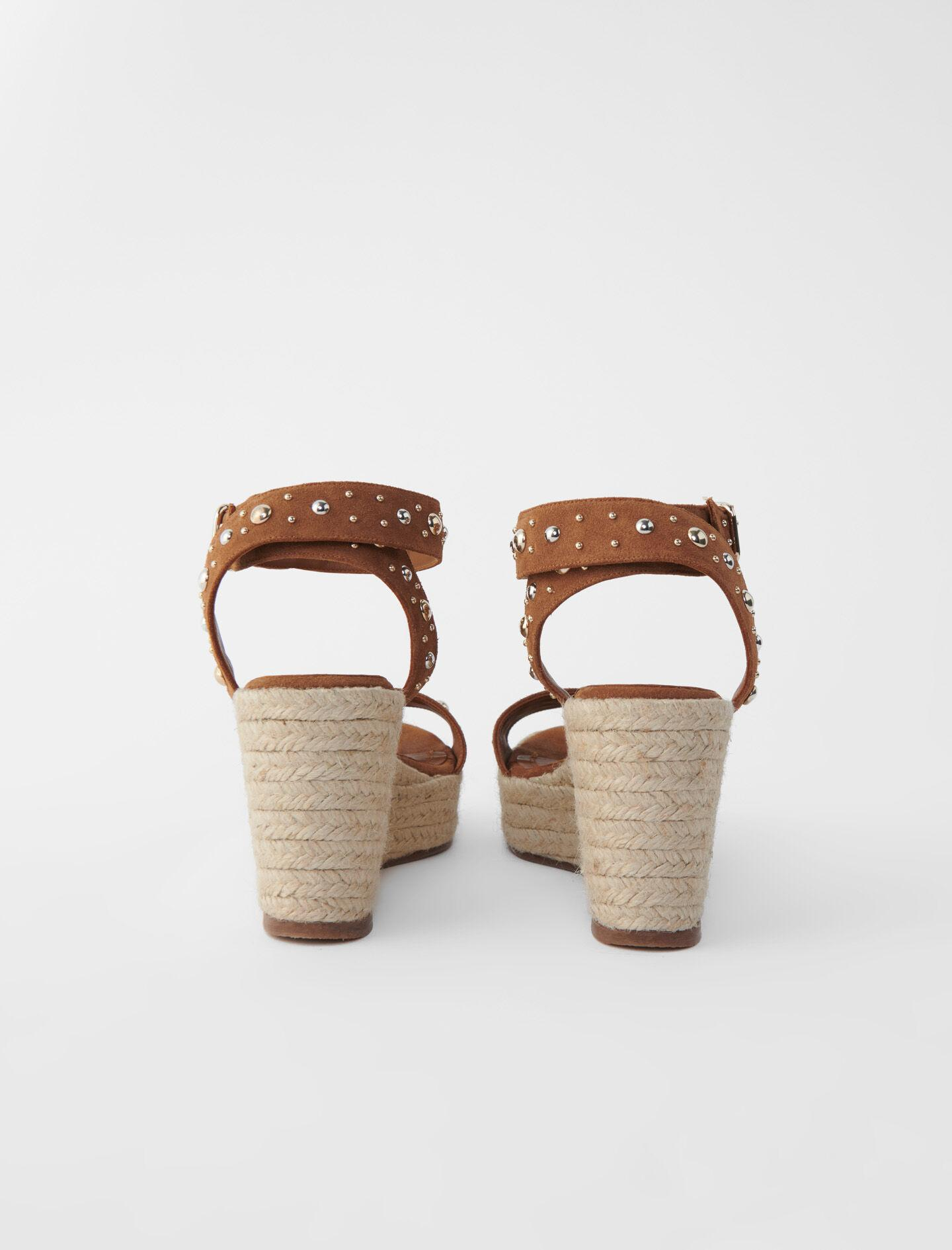 WEDGE SANDALS WITH SUEDE STRAPS 2