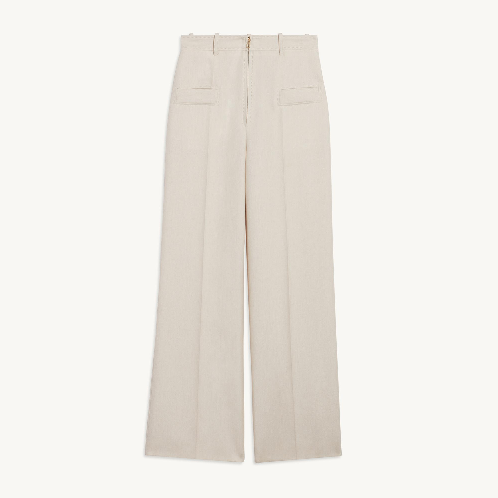 Pants with center front zip 5