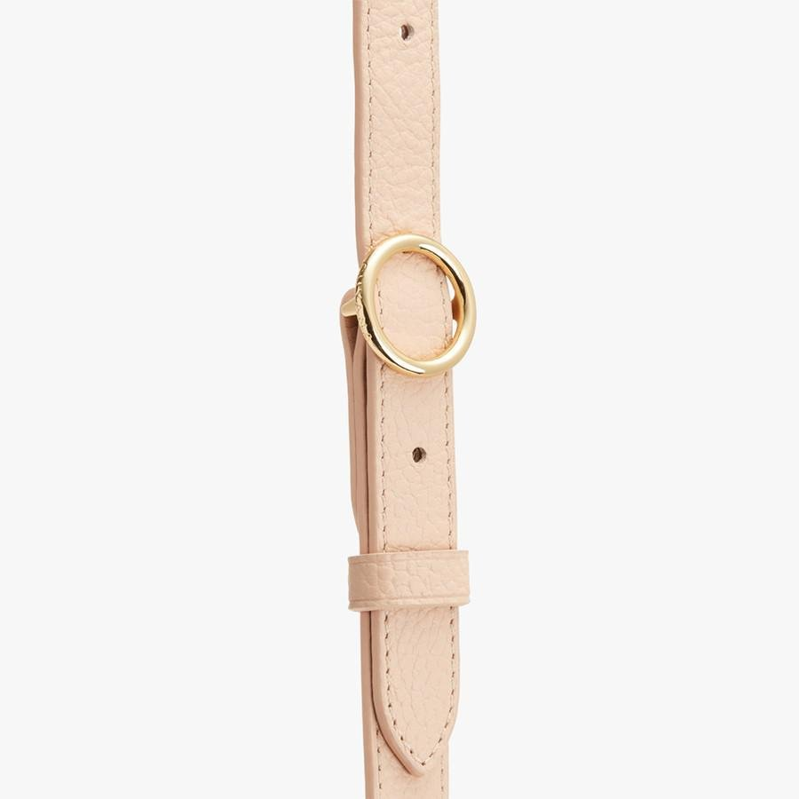 Women's Adjustable Strap in Blush Pink   Pebbled Leather by Cuyana 2