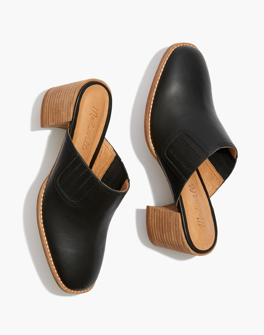 The Carey Mule in Leather