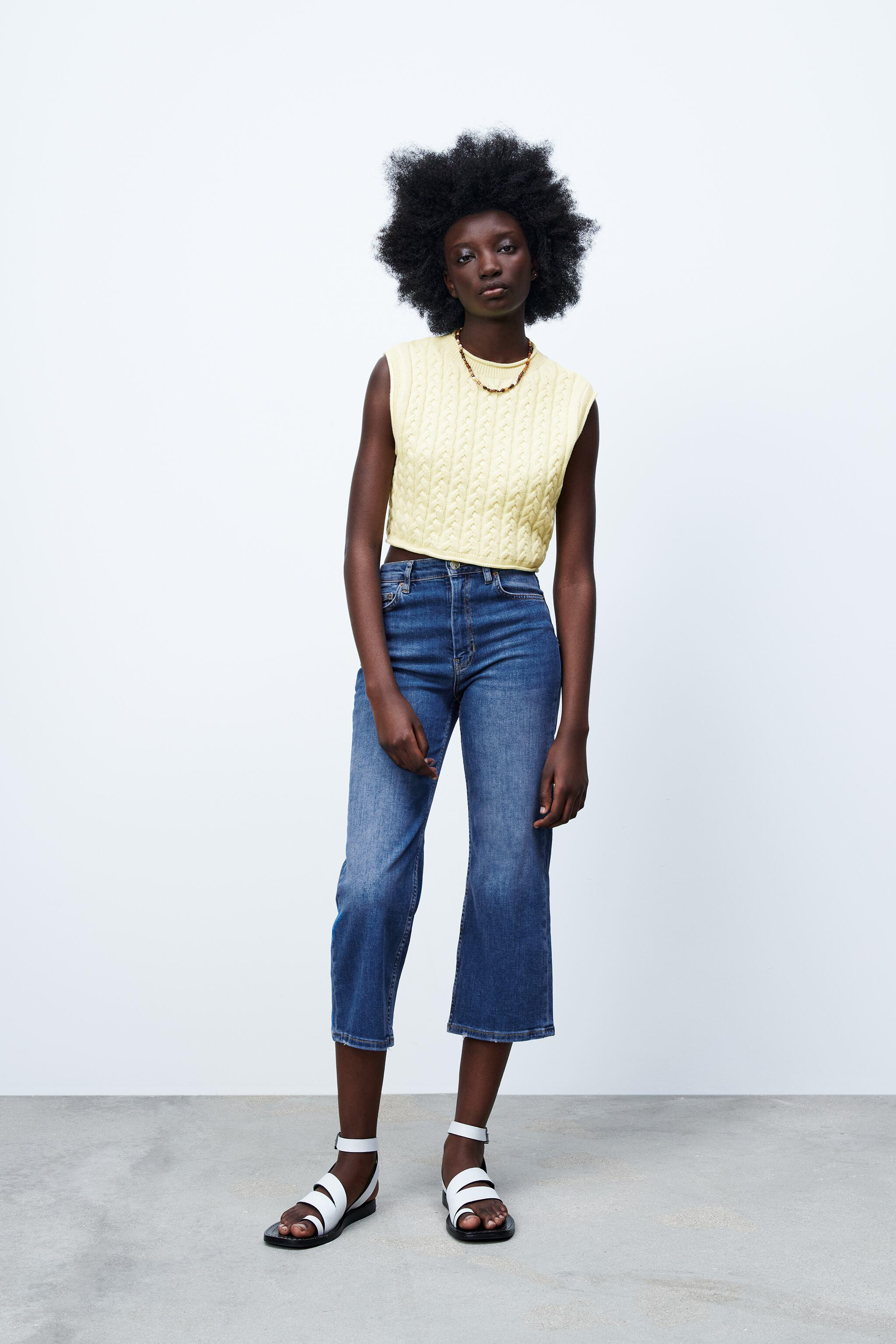 THE BLOOM FLARE ZW JEANS