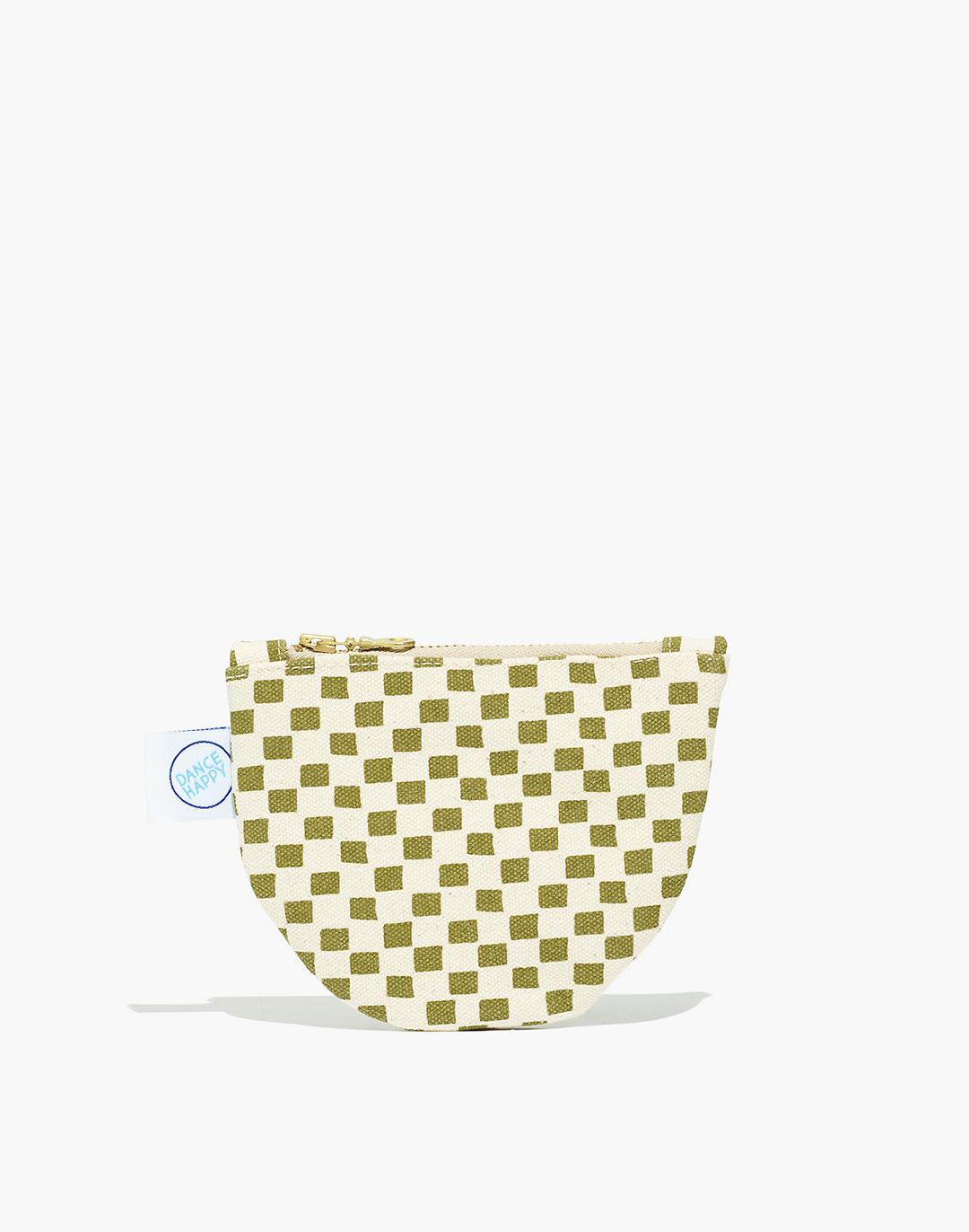 Madewell x Dance Canvas Small Semicircle Pouch