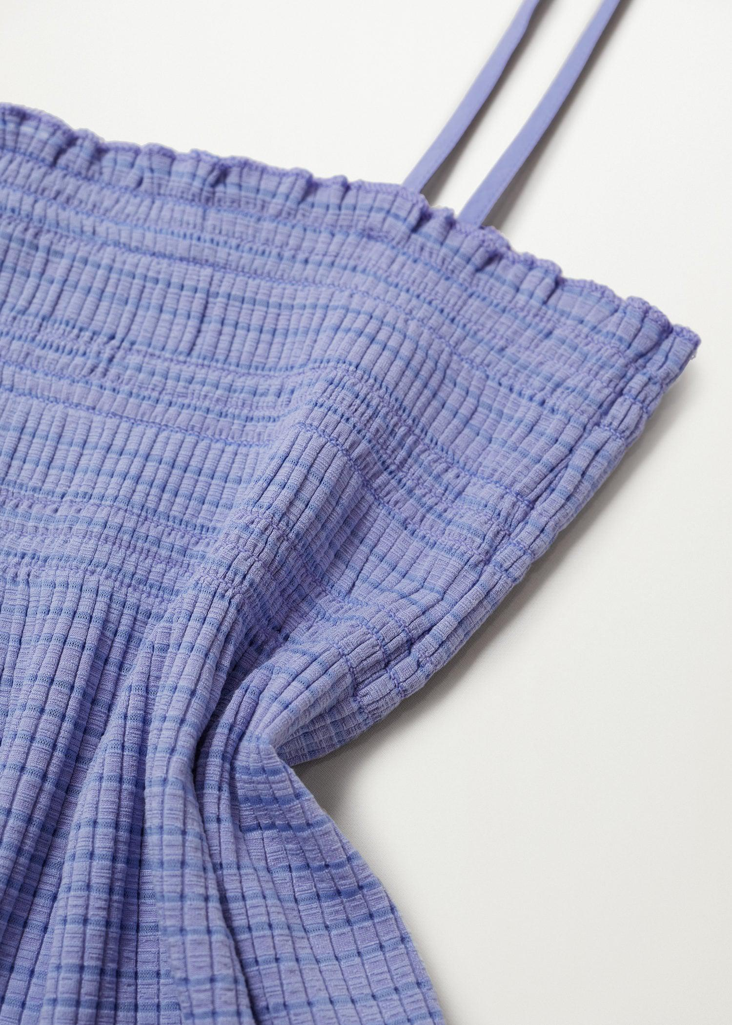 Pleated strap top 5