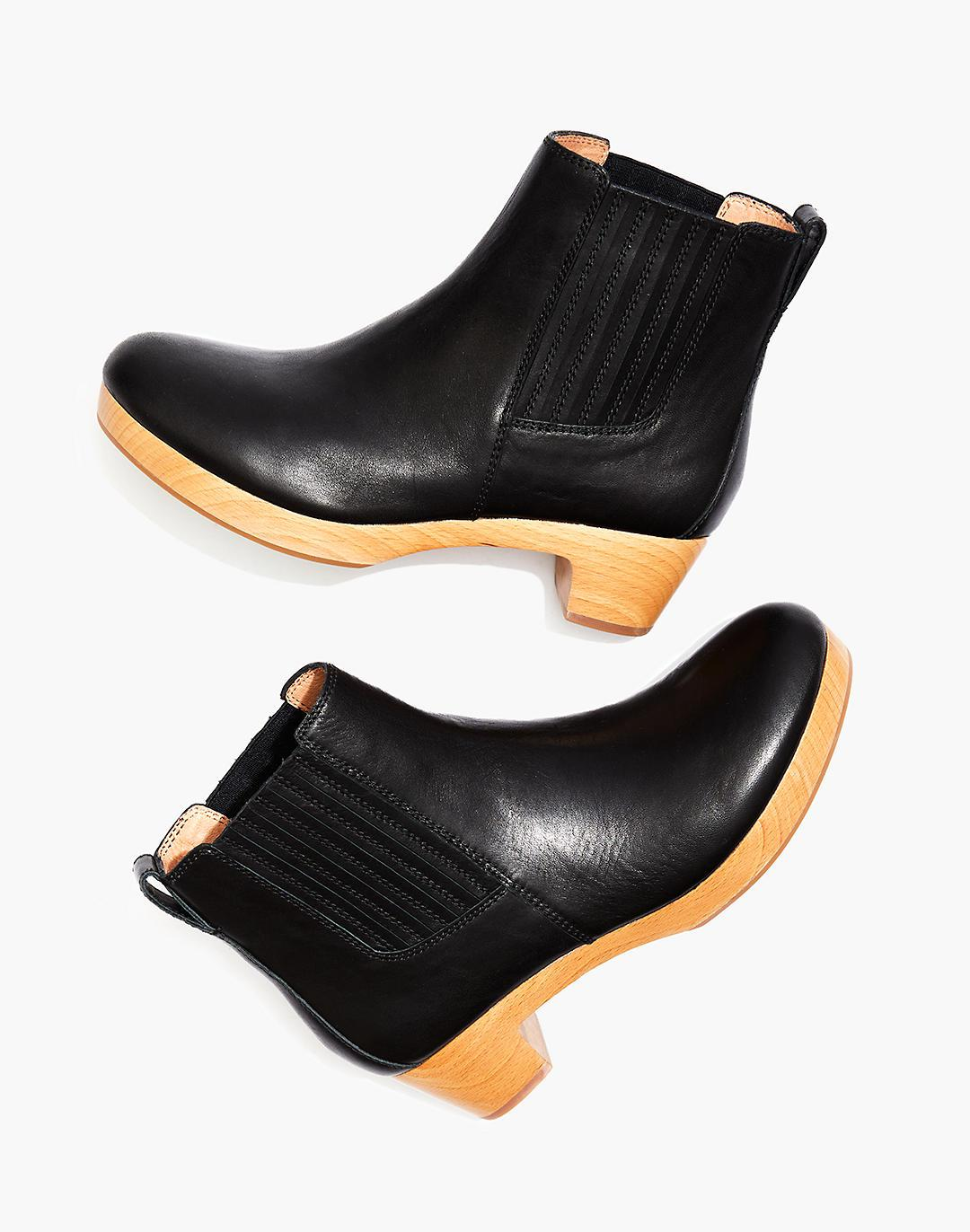 The Clog Boot in Leather