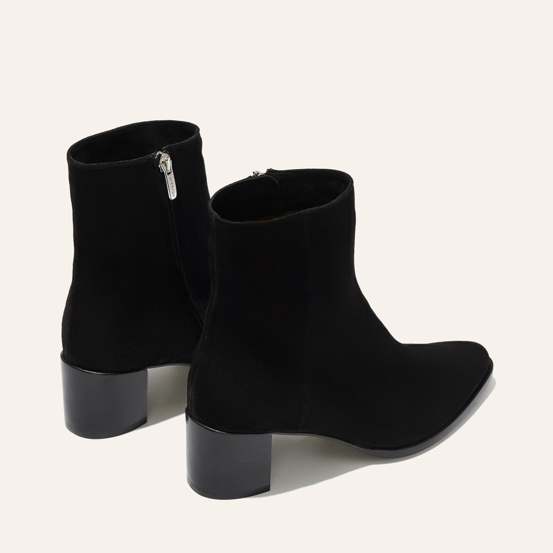 The Downtown Boot - Black Suede 3