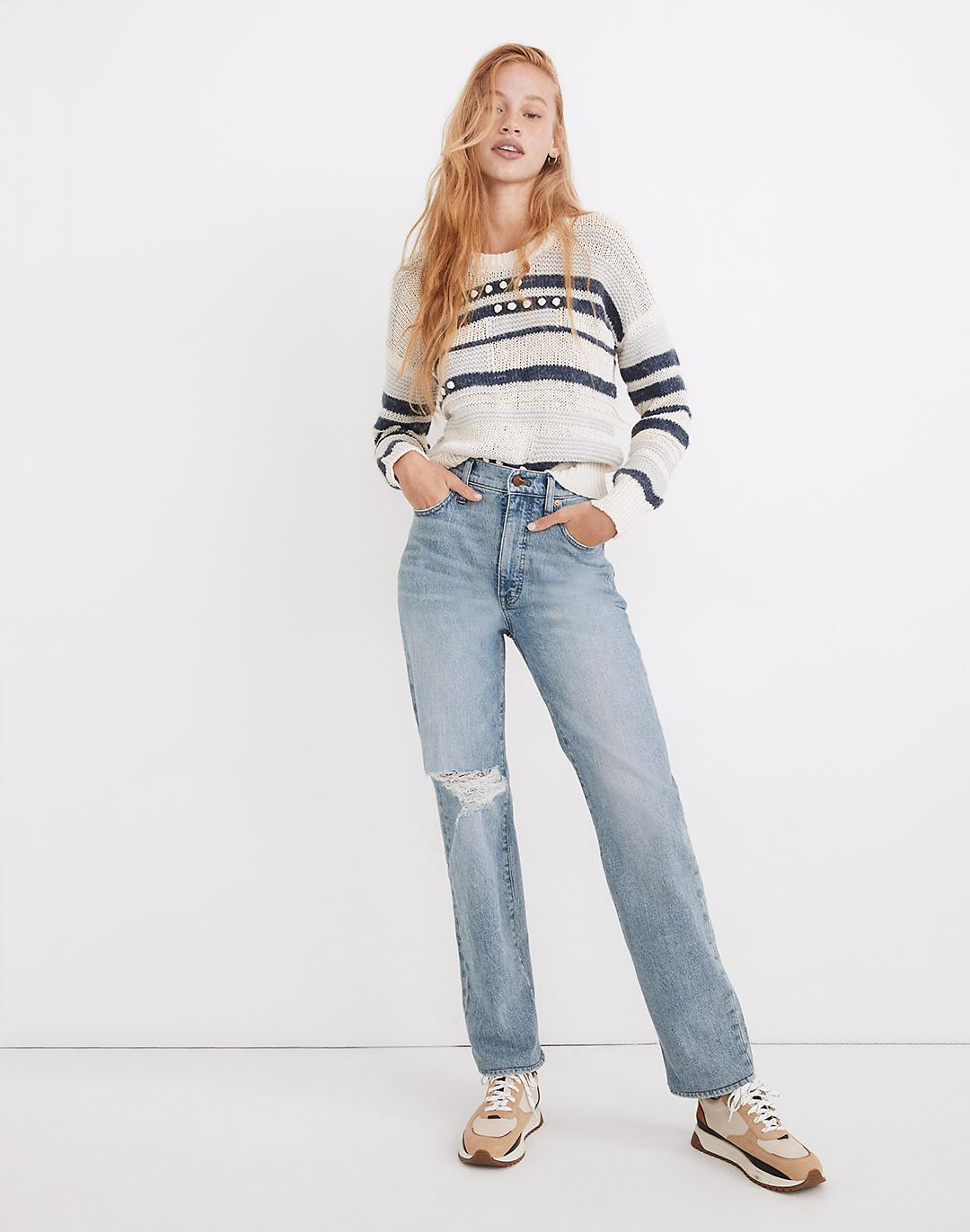 The Petite Perfect Vintage Straight Jean in Reinhart Wash