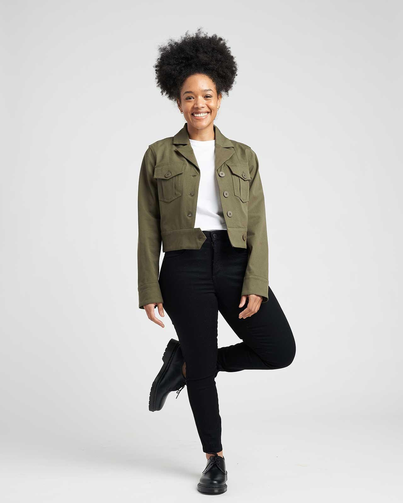 Chelsea Stretch Cotton Twill Jacket 1