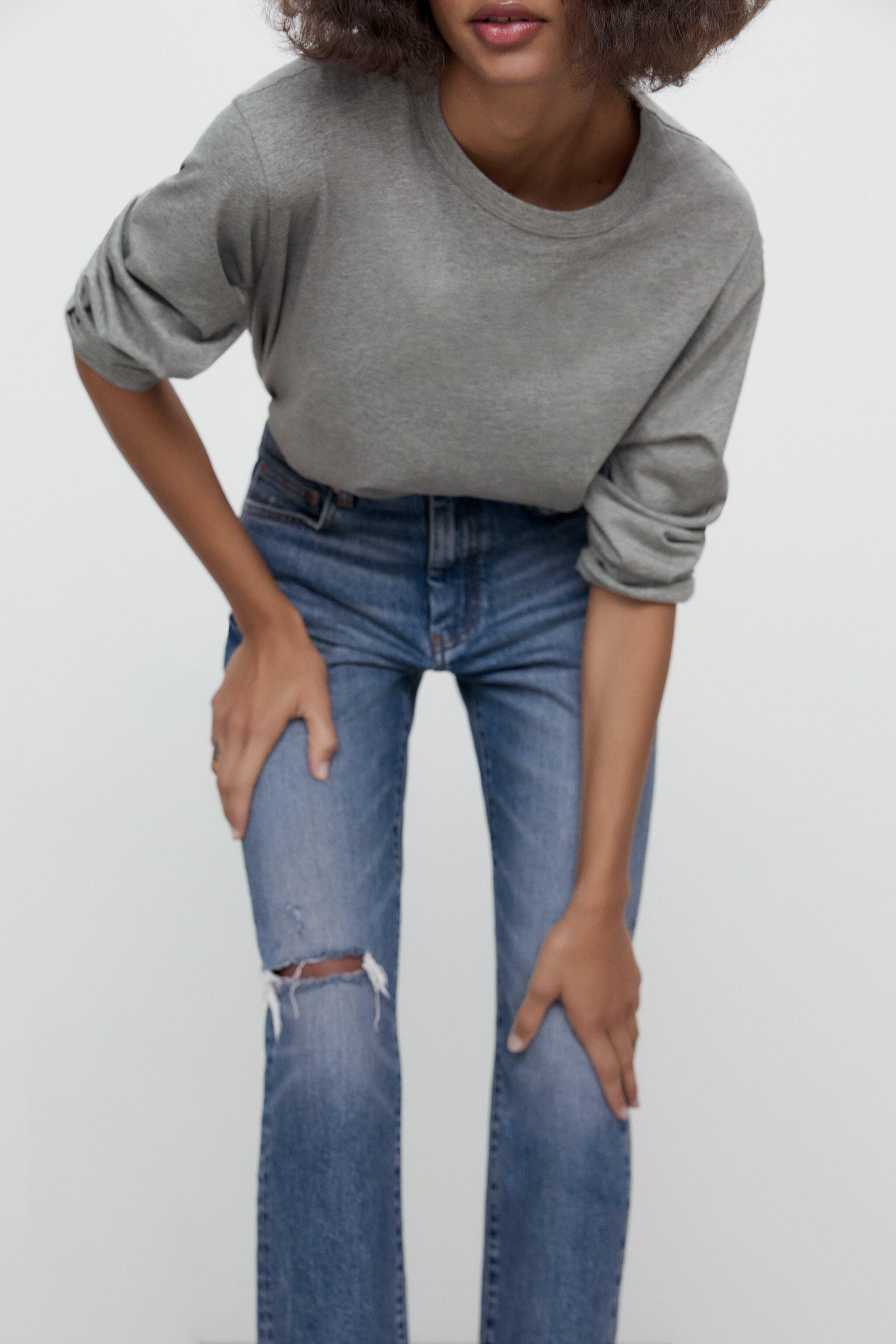 ZW THE NEW SLIM CROPPED JEANS 7