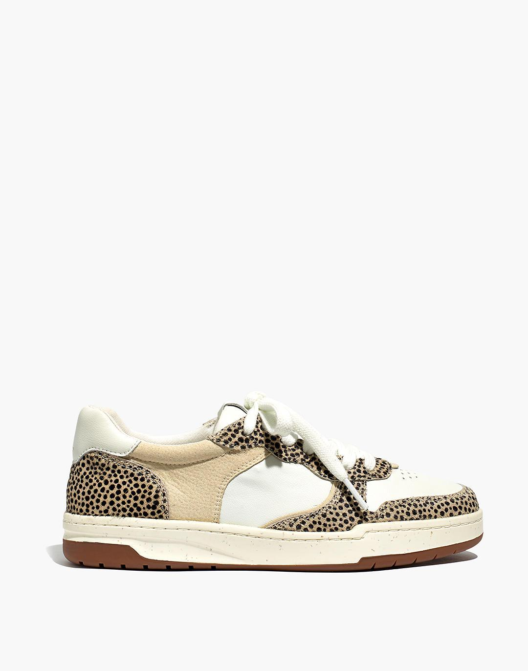 Court Sneakers in Spotted Calf Hair