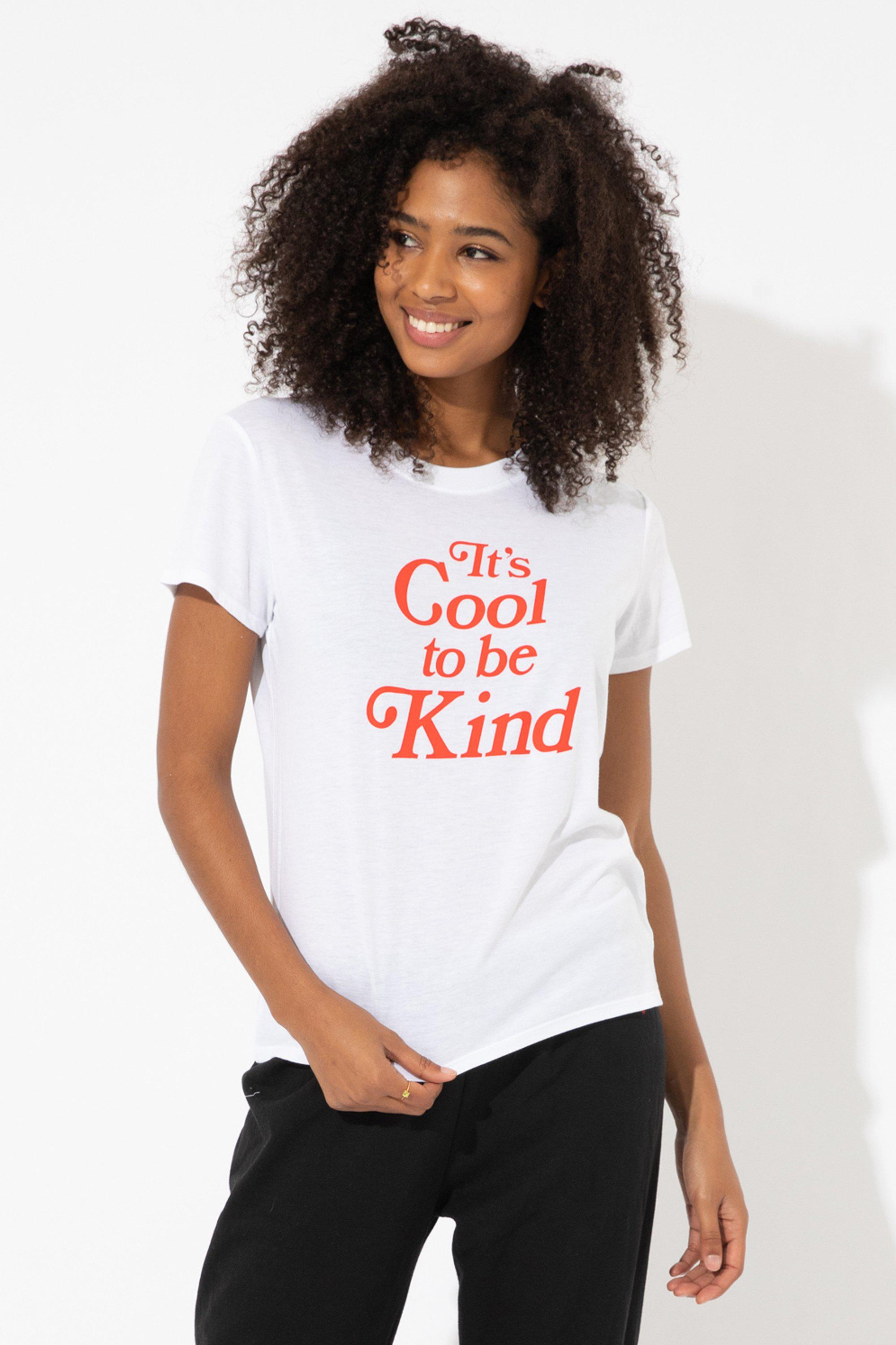 IT'S COOL TO BE KIND LOOSE TEE