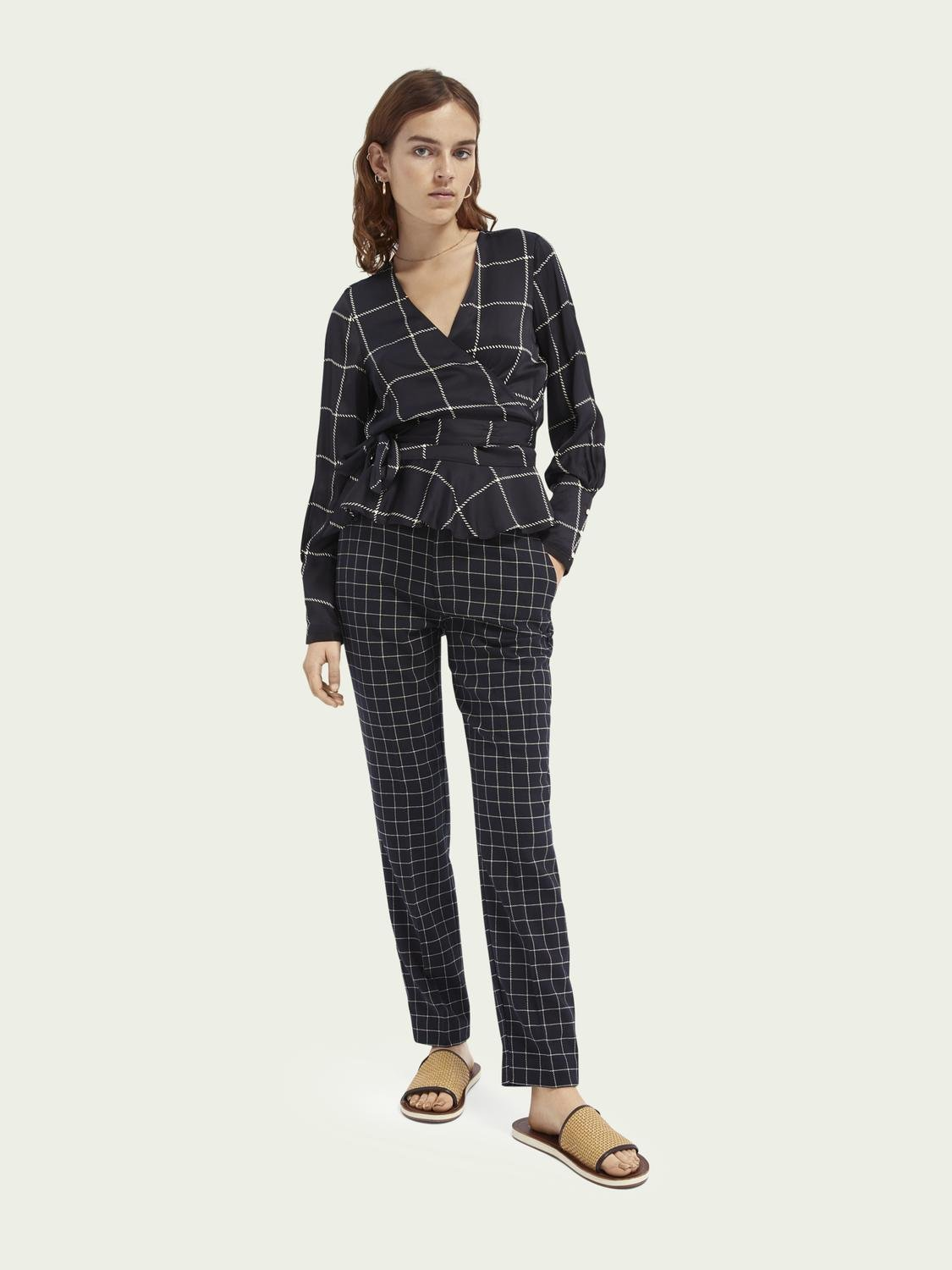 Lowry tailored slim-fit trousers 1
