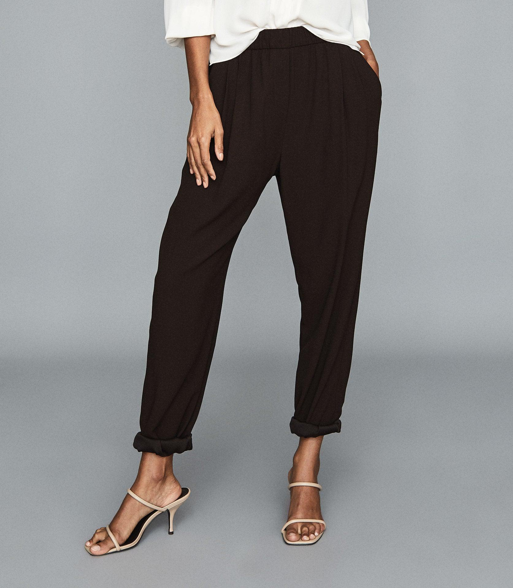 ROXY - RELAXED FIT TAPERED TROUSERS 1