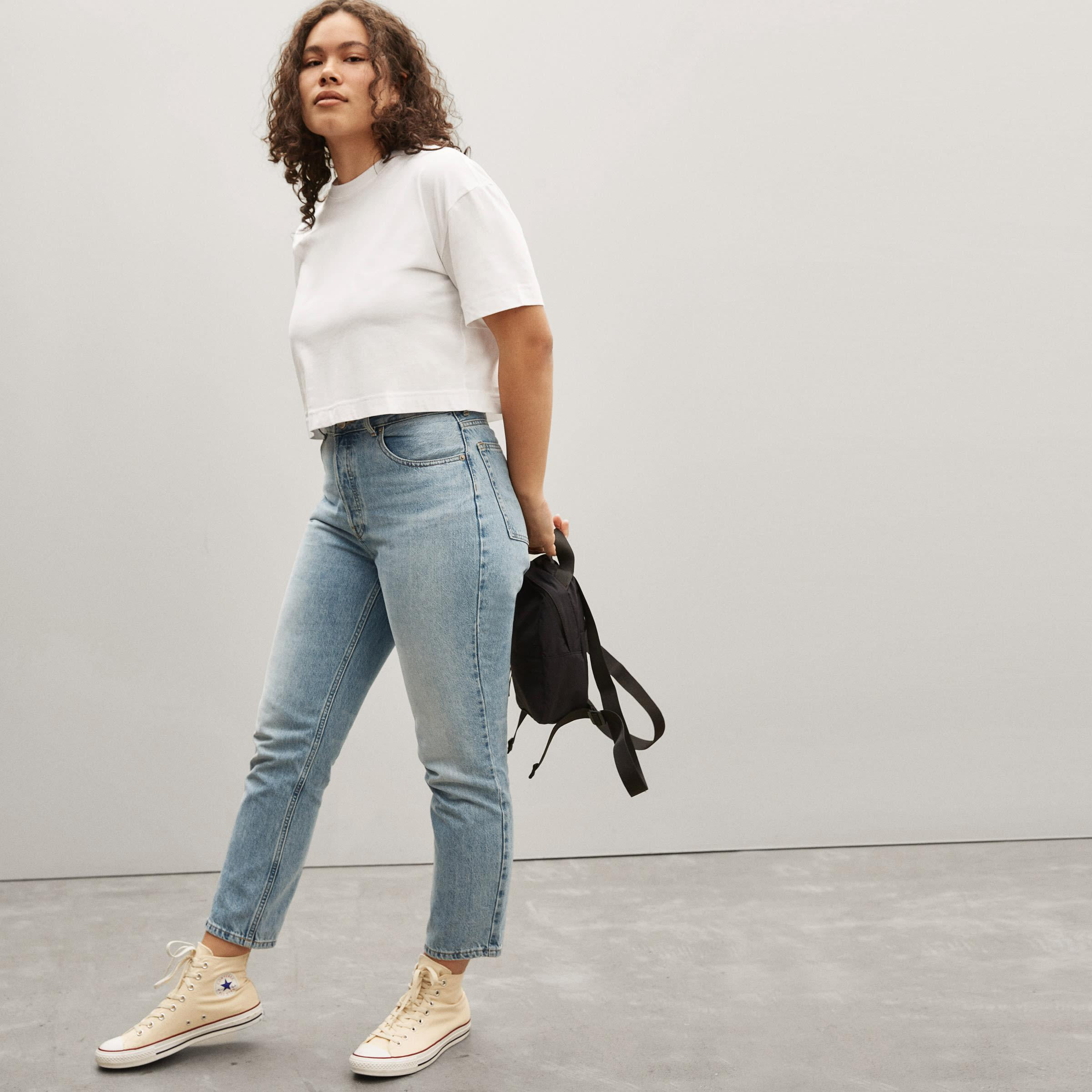 The Organic Cotton Cropped Tee 1
