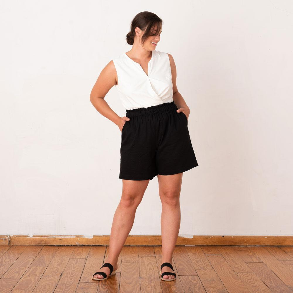 Ease In Paperbag Shorts