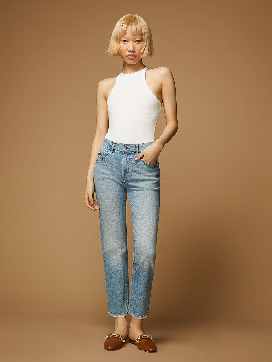 Patti Straight High Rise Vintage Ankle | Reef