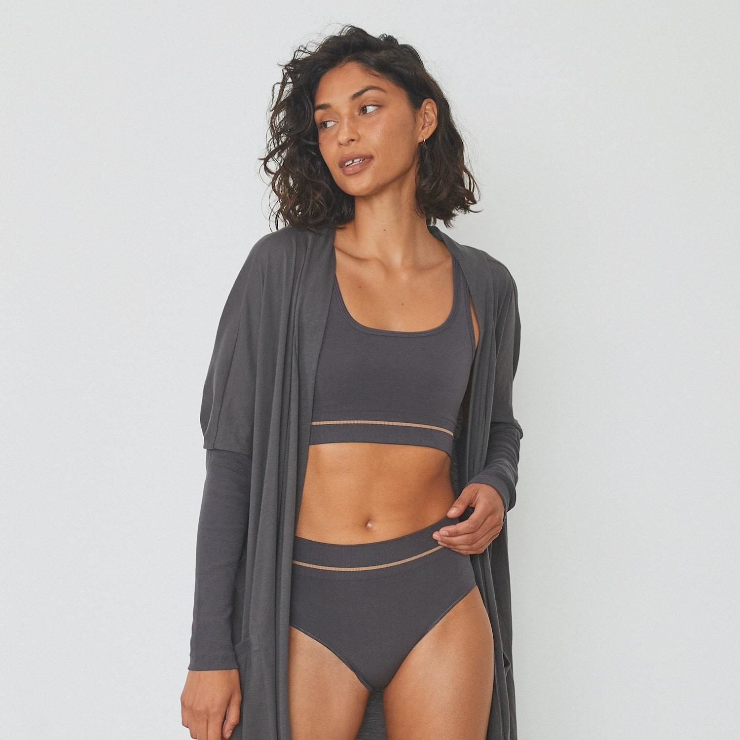 Soft Supportive Seamless Modal Bralette