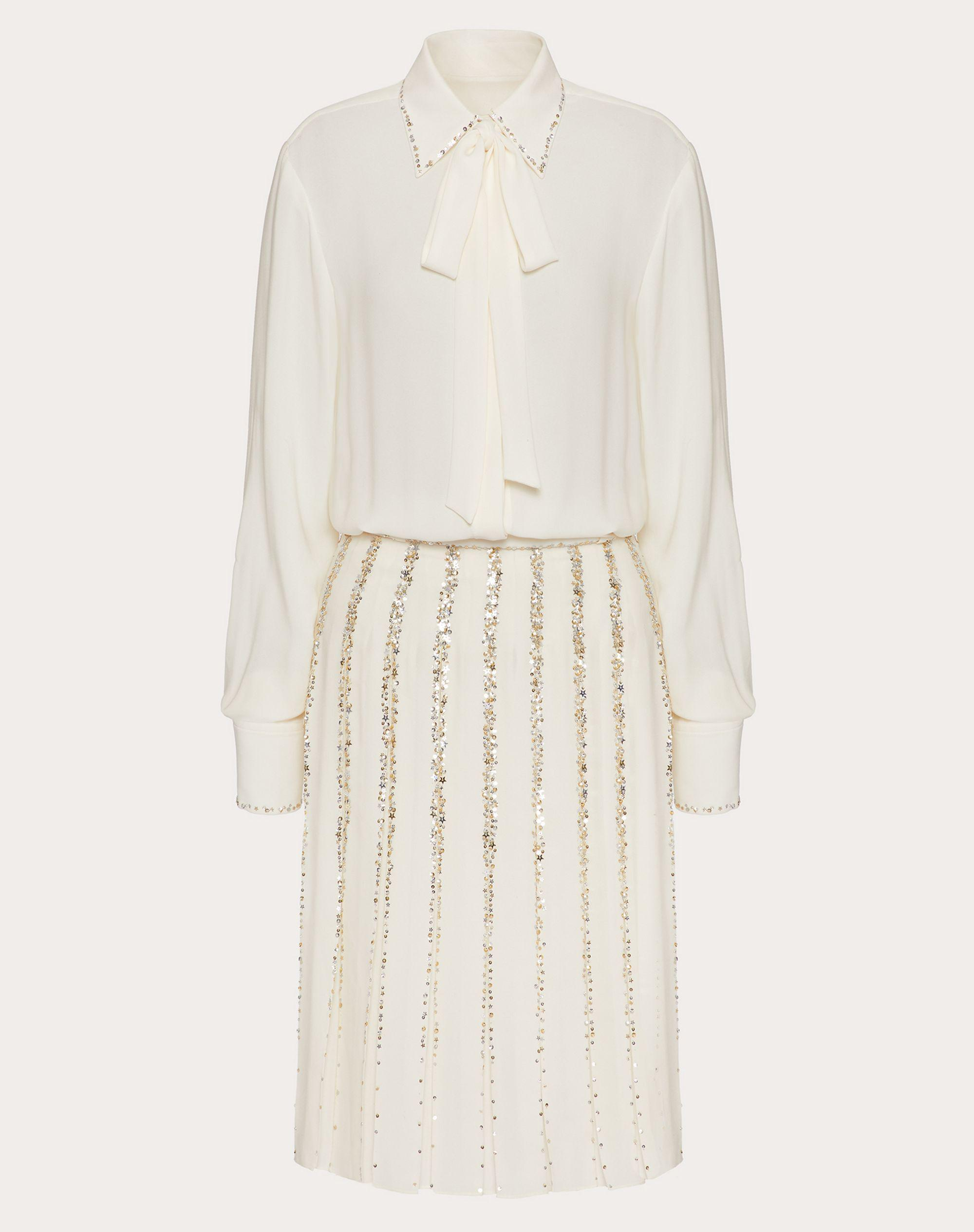 EMBROIDERED GEORGETTE DRESS 4