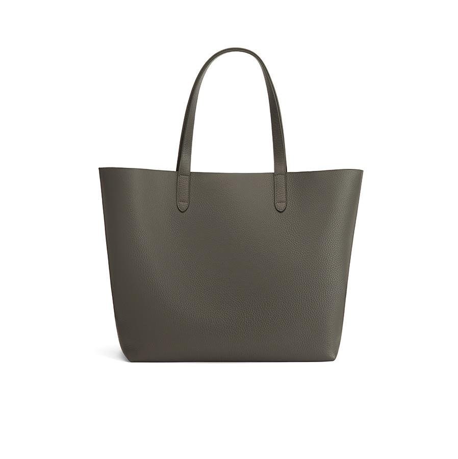 Women's Classic Leather Tote Bag in Dark Olive | Pebbled Leather by Cuyana
