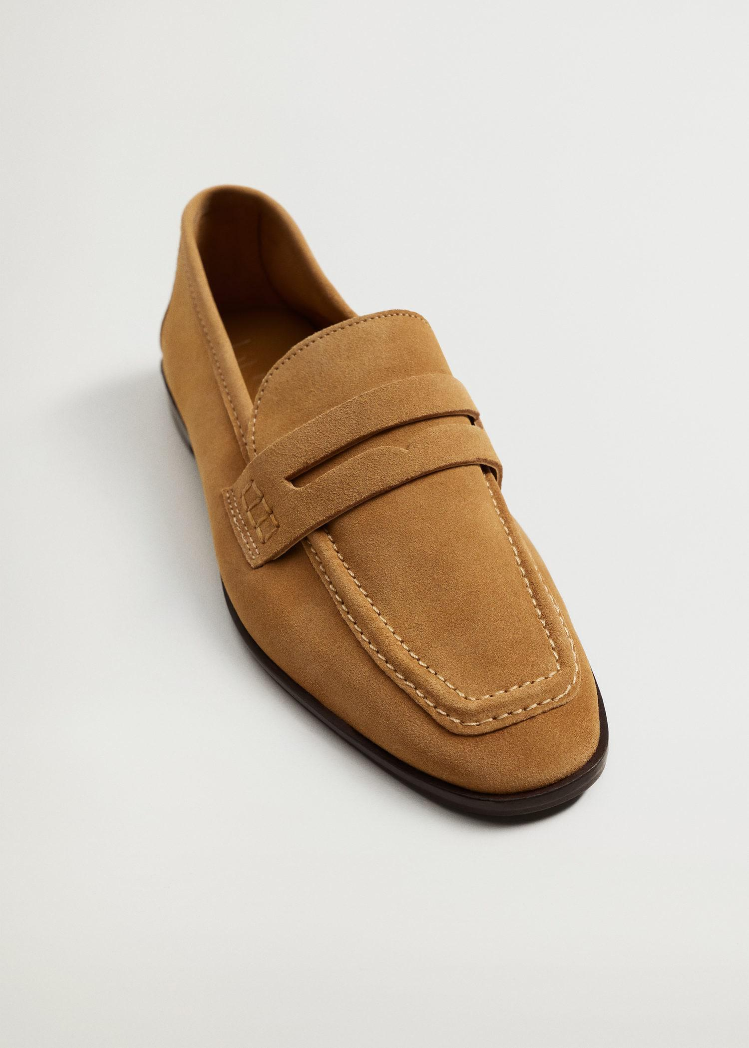 Suede leather moccasin 4