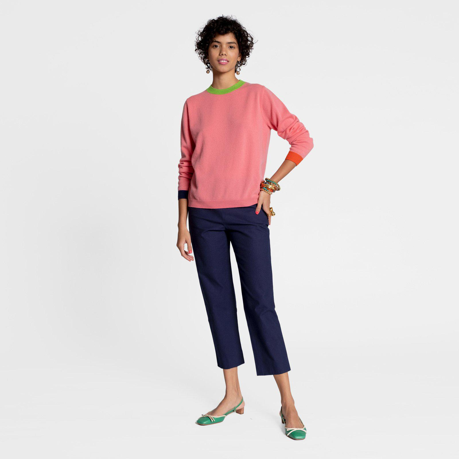 Betts Cashmere Sweater Pink 2