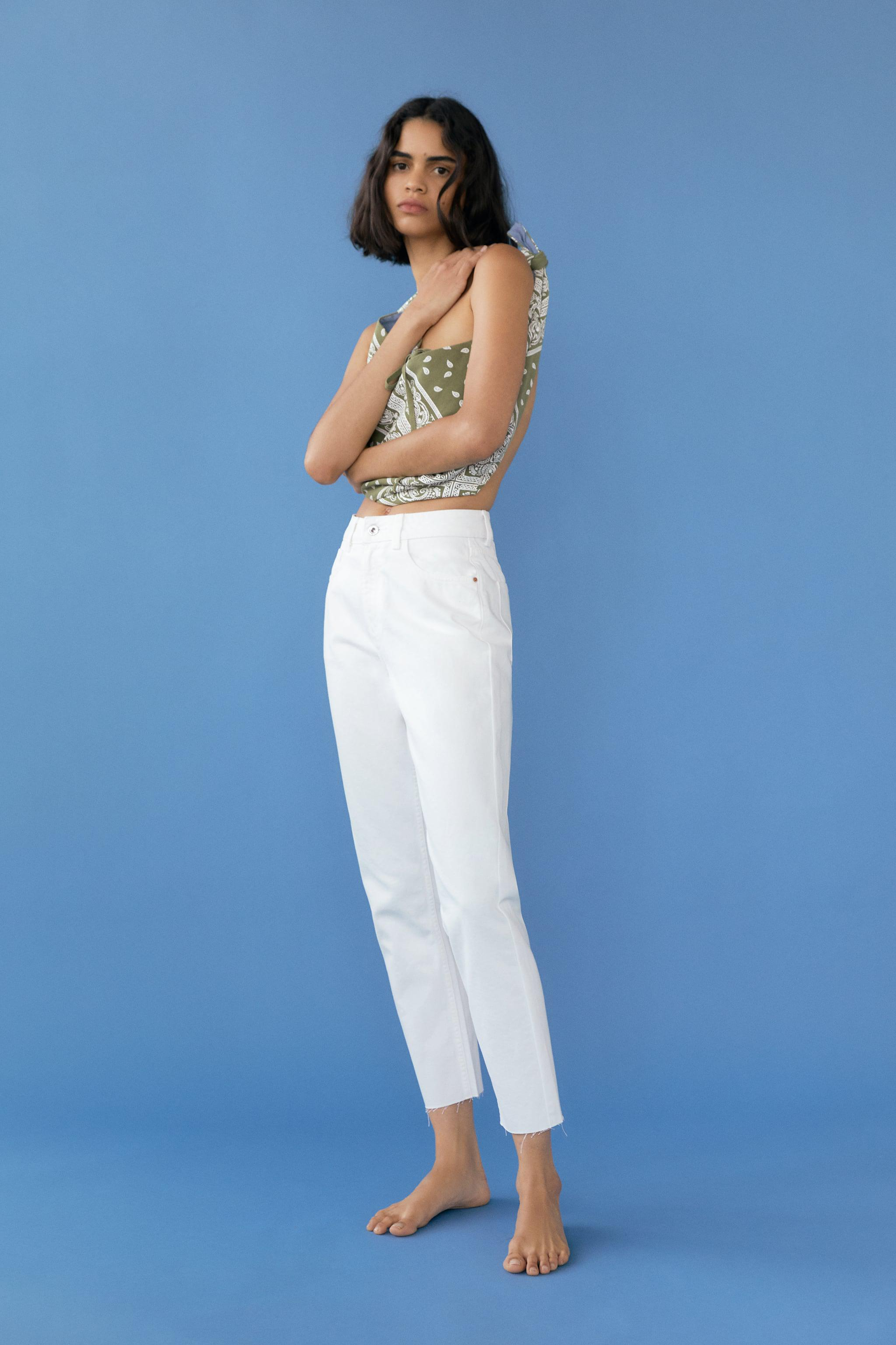 Z1975 MOM FIT ANKLE LENGTH JEANS