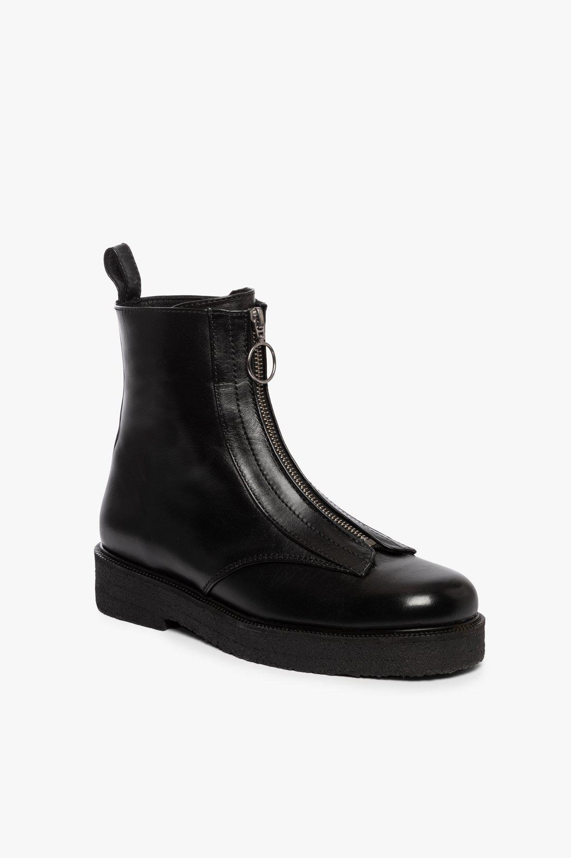 PALERMO ANKLE ZIP BOOT | BLACK