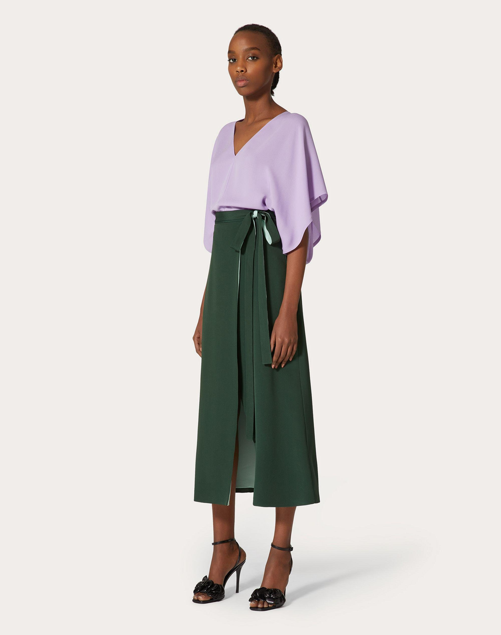 CADY COUTURE WRAP SKIRT