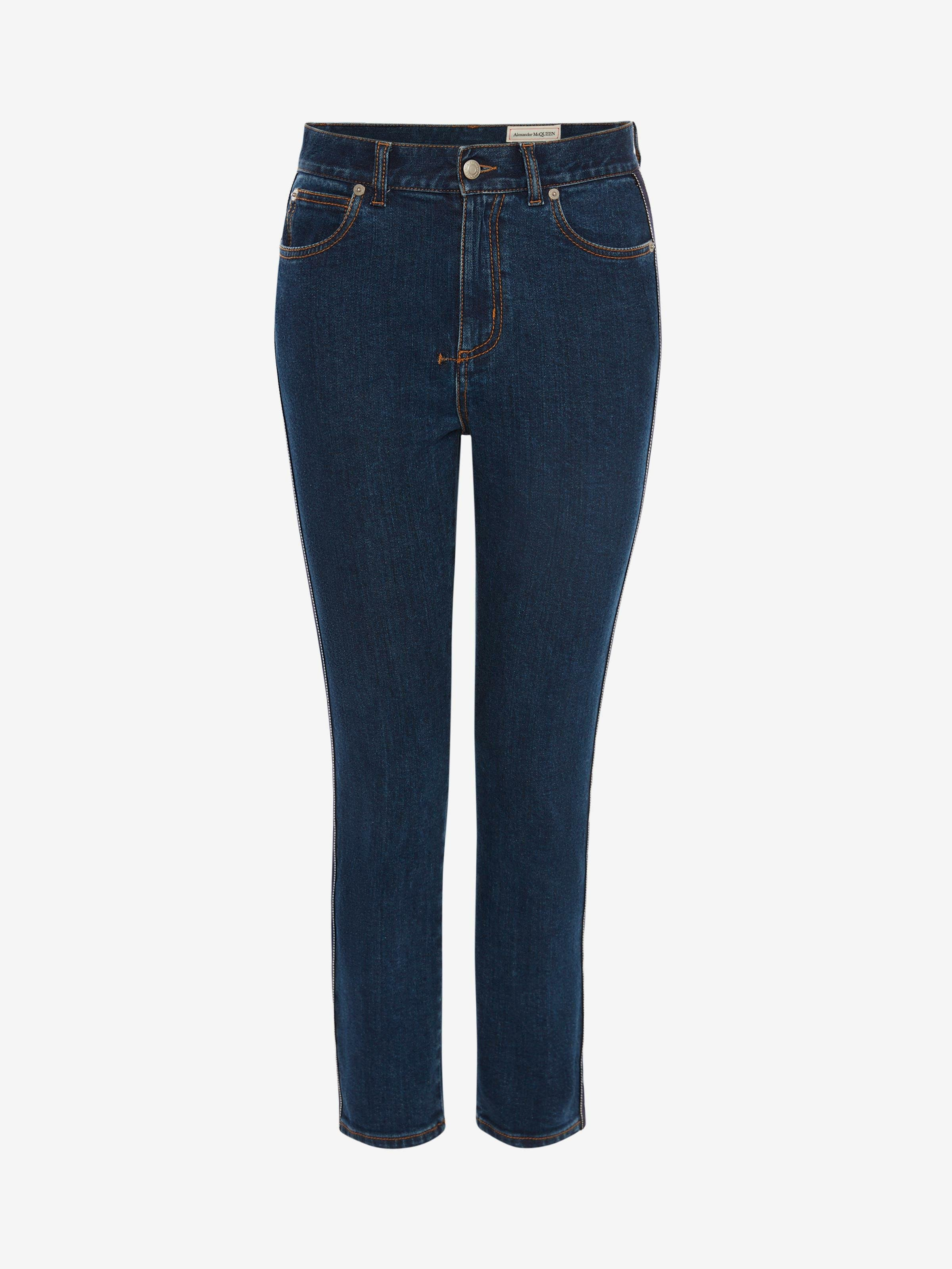 Fitted Denim Trouser 3